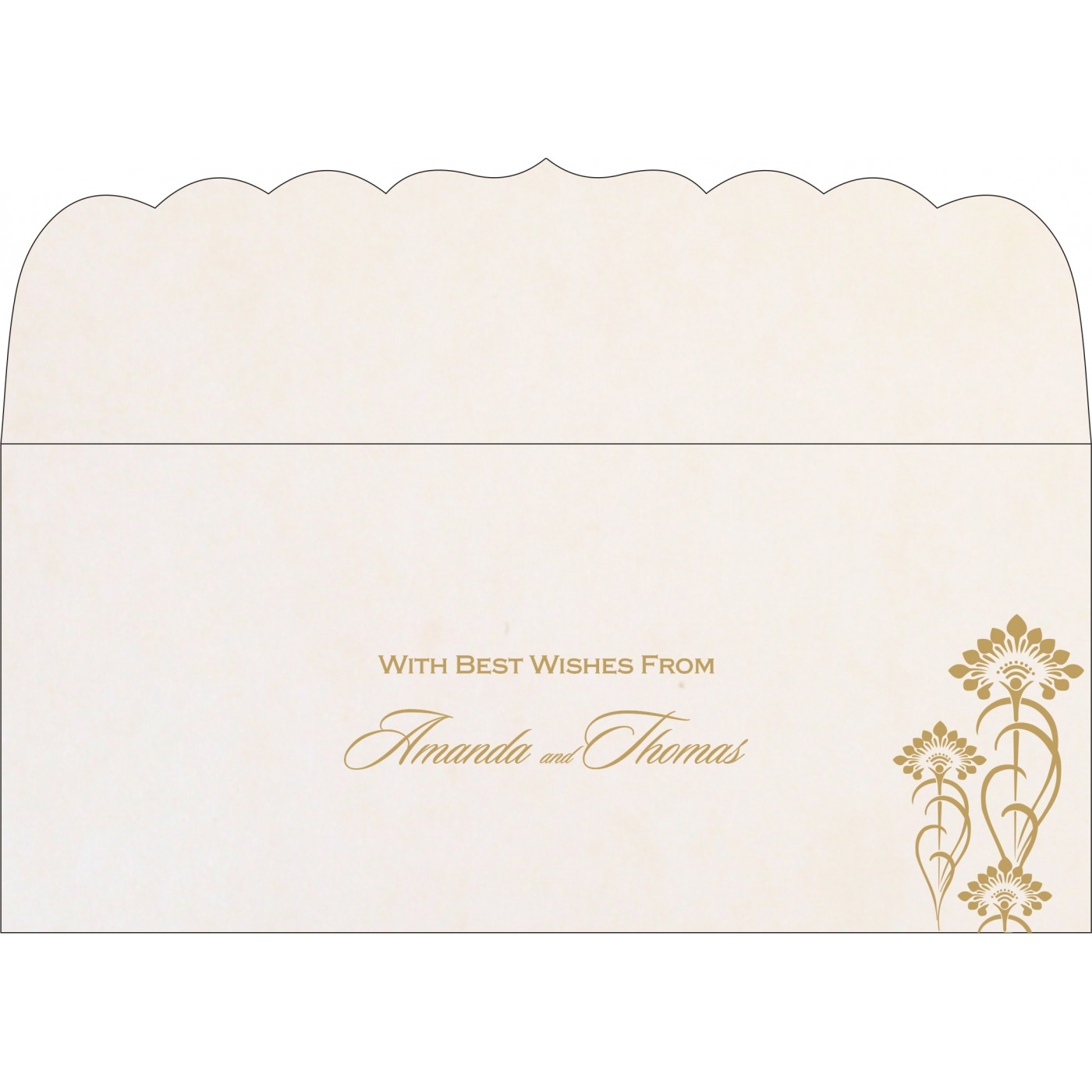 Money Envelopes : CME-8239K - IndianWeddingCards