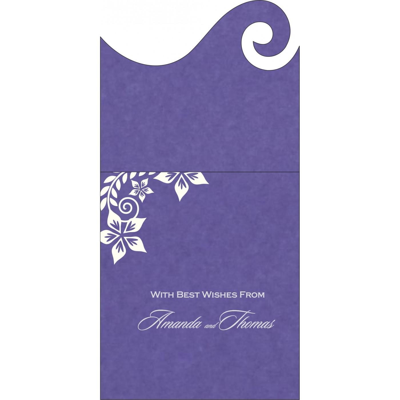 Money Envelopes : CME-8240B - IndianWeddingCards