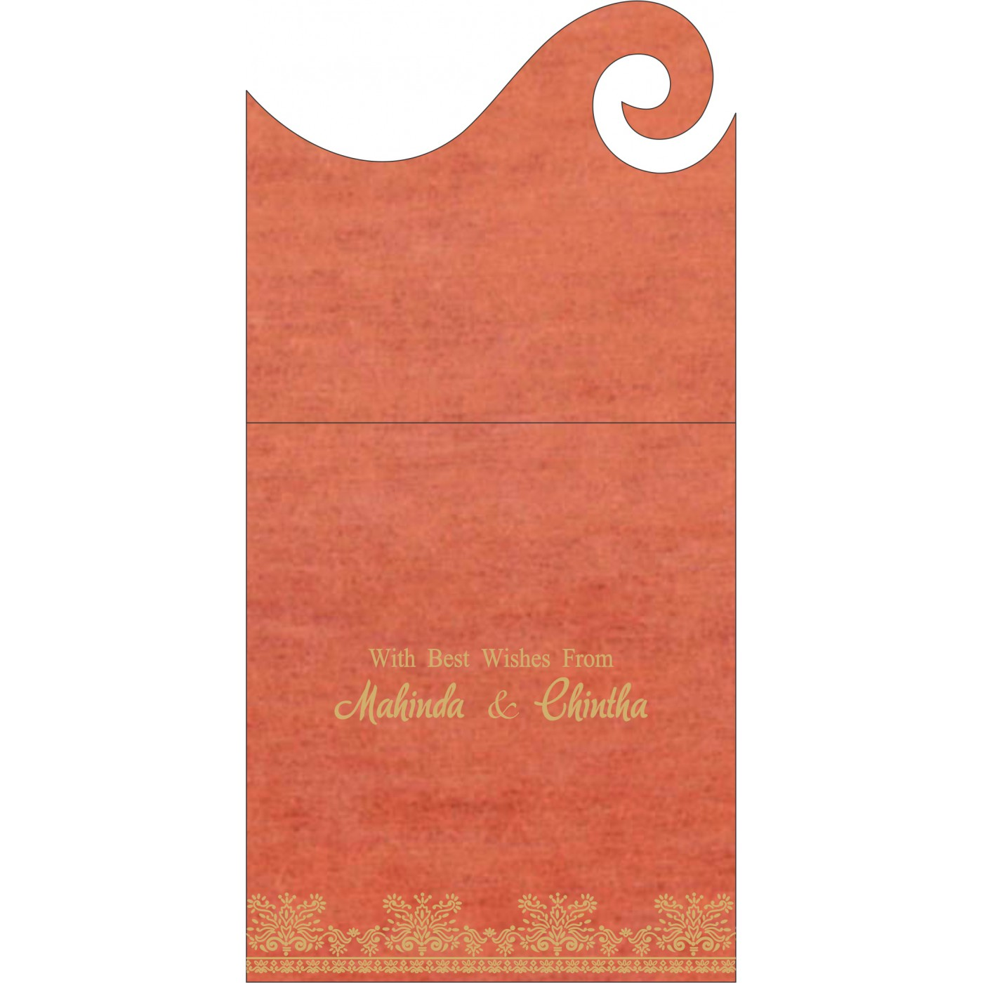 Money Envelopes : CME-8241K - IndianWeddingCards