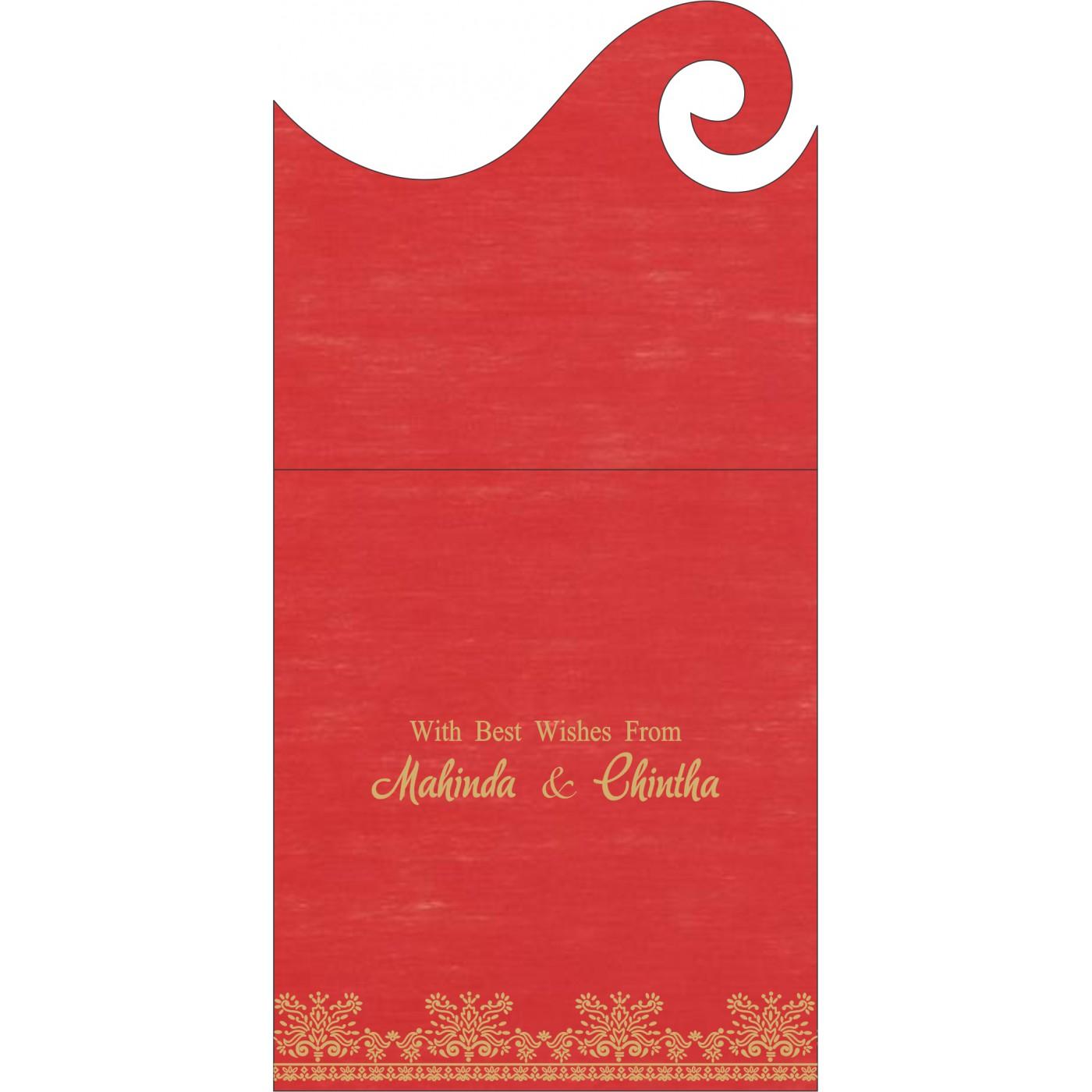 Money Envelopes : CME-8241Q - IndianWeddingCards