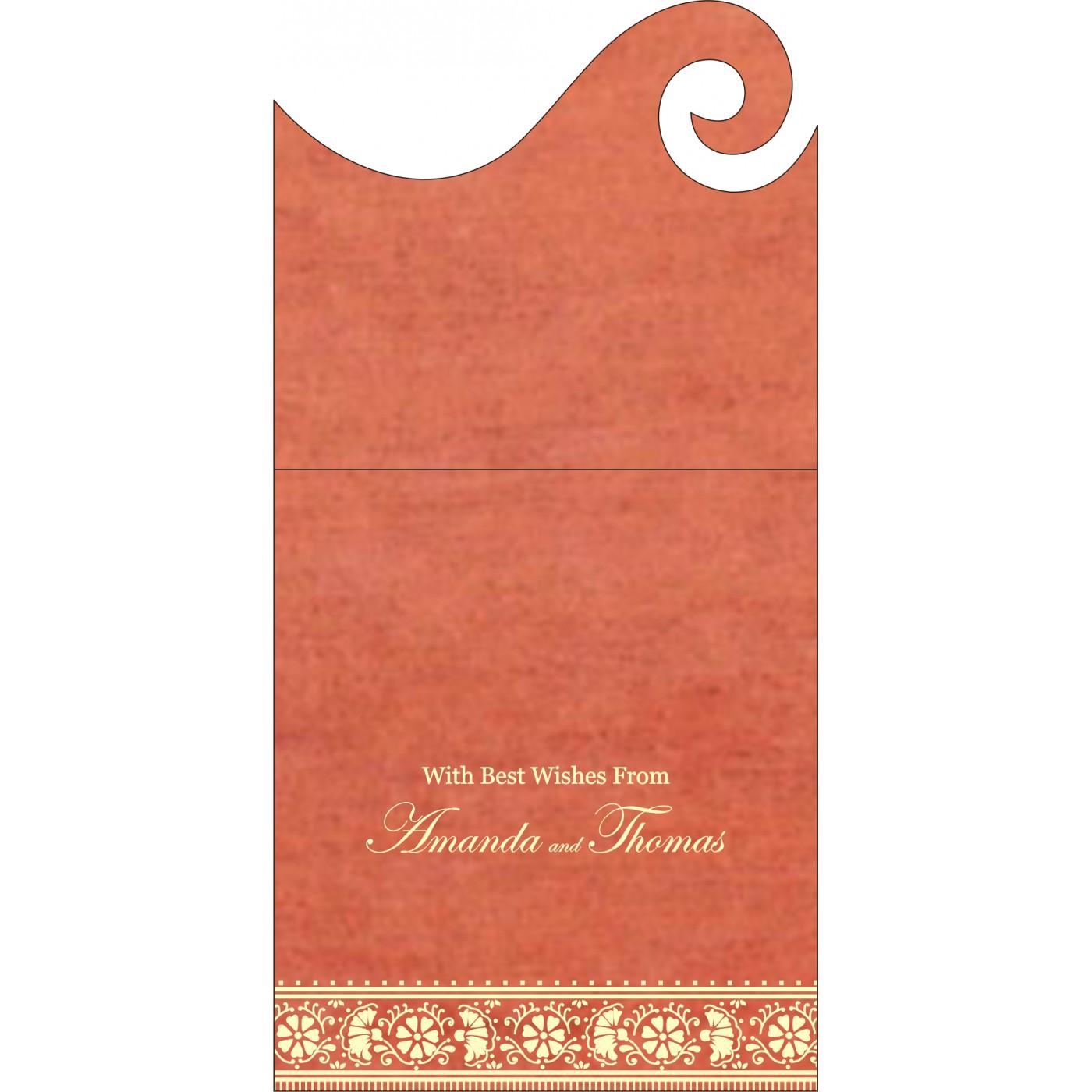 Money Envelopes : CME-8242I - IndianWeddingCards