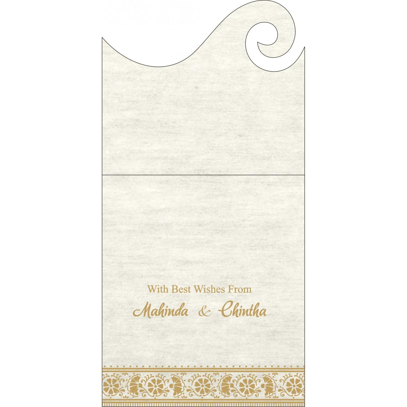 Money Envelopes : CME-8242M - IndianWeddingCards