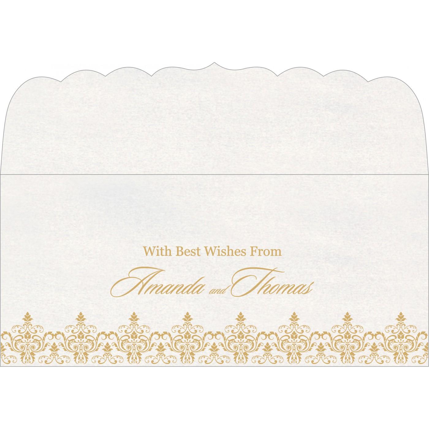 Money Envelopes : CME-8244B - IndianWeddingCards