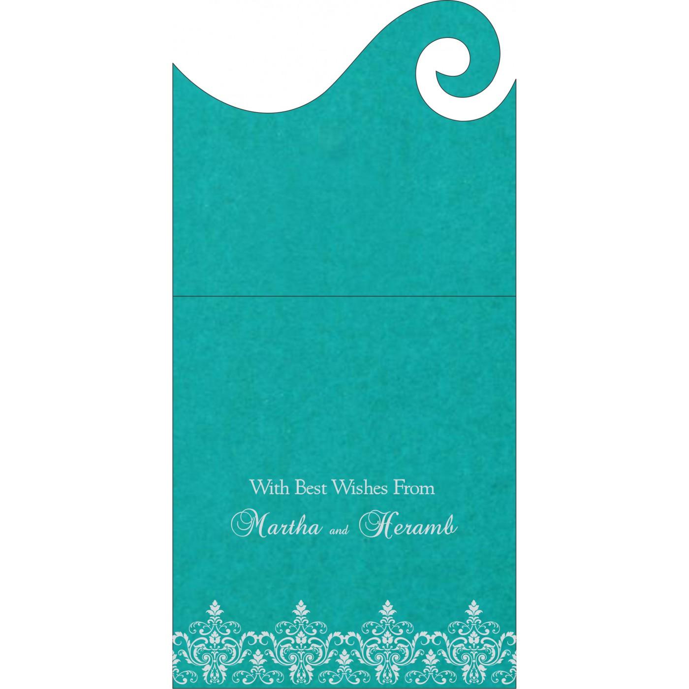 Money Envelopes : CME-8244C - IndianWeddingCards