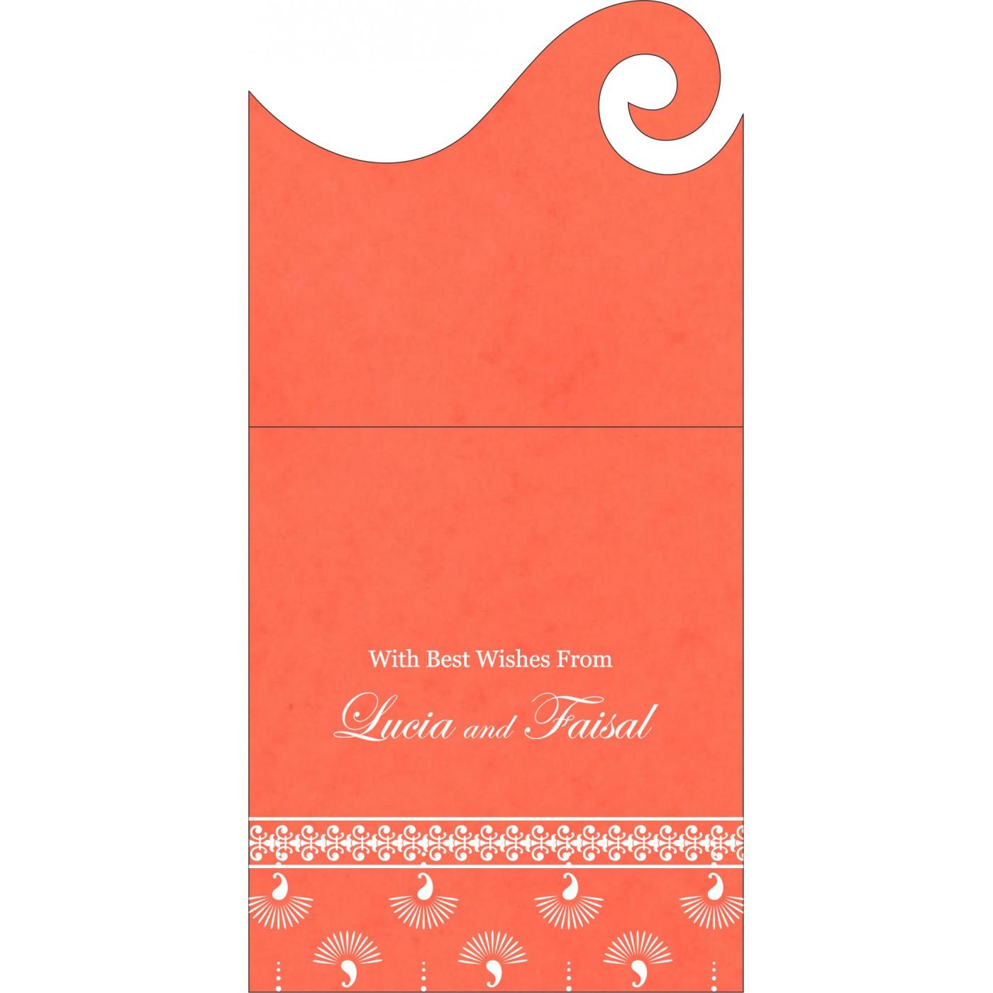 Money Envelopes : CME-8247I - IndianWeddingCards