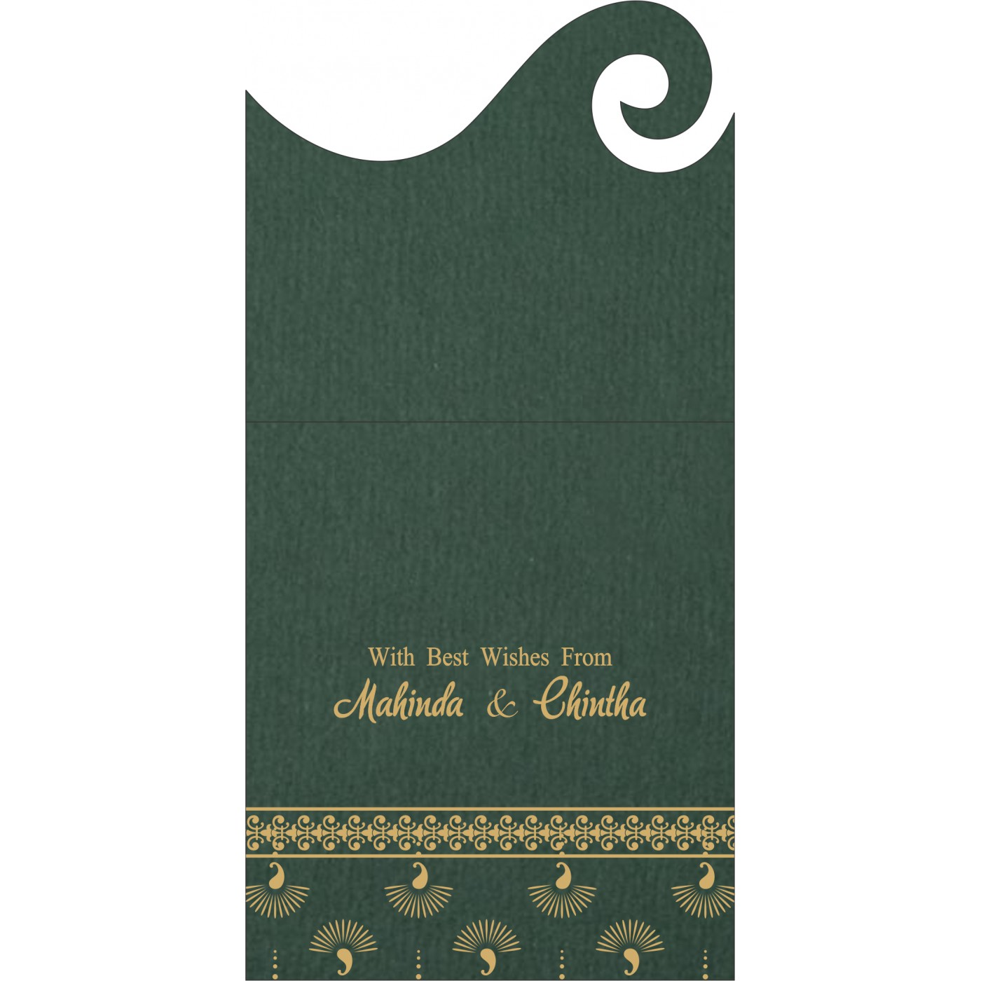 Money Envelopes : CME-8247N - IndianWeddingCards
