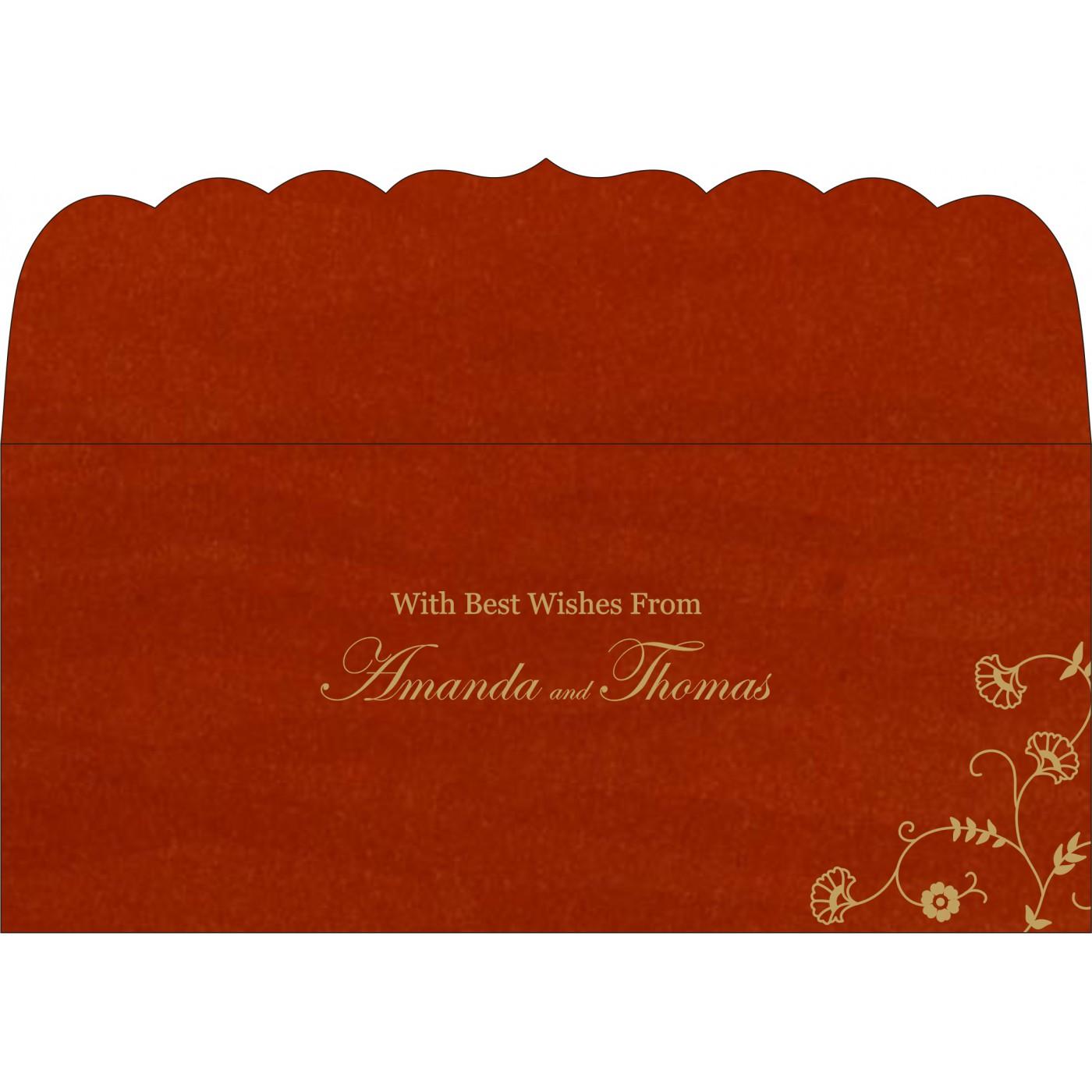 Money Envelopes : CME-8248A - IndianWeddingCards