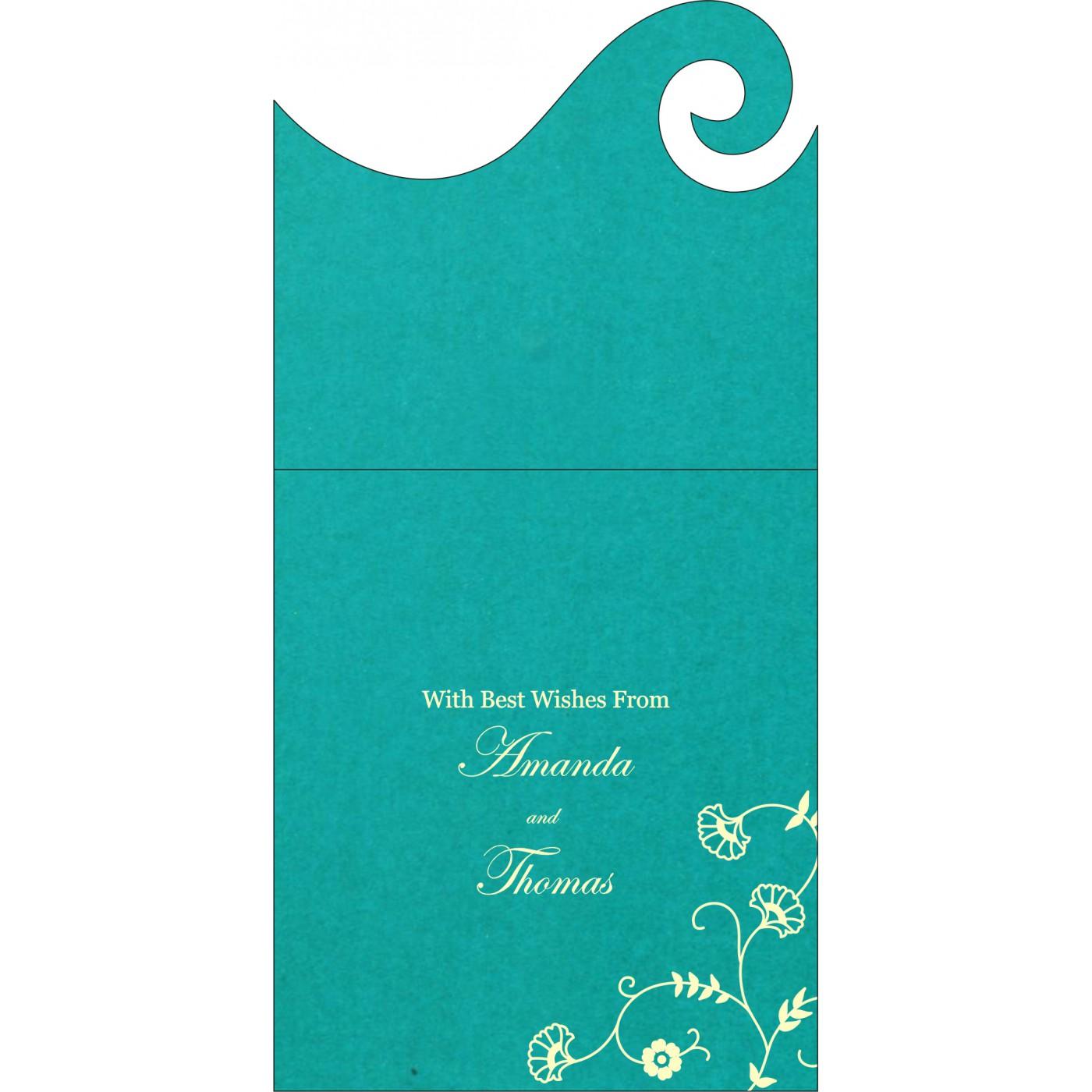 Money Envelopes : CME-8248F - IndianWeddingCards
