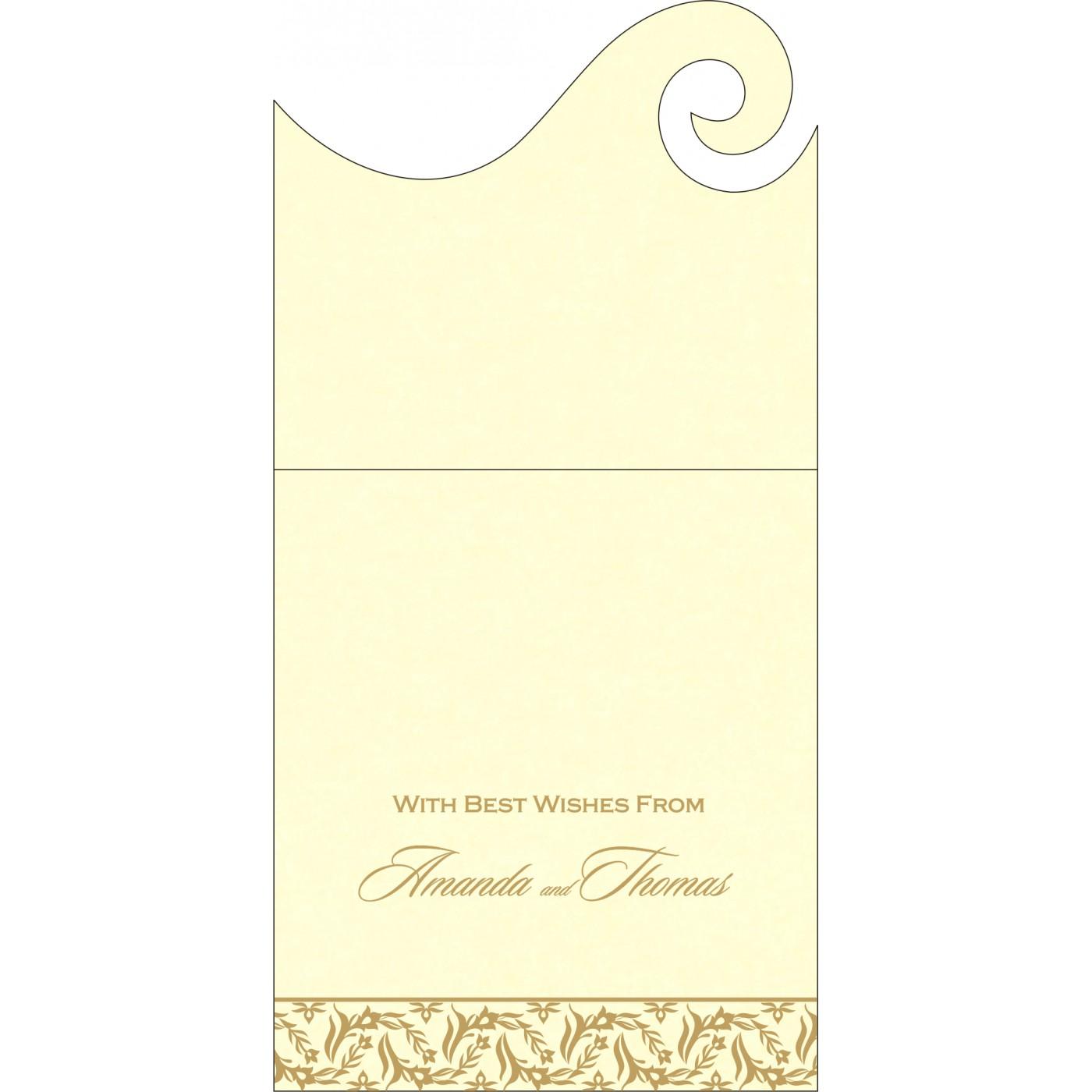 Money Envelopes : CME-8249B - IndianWeddingCards