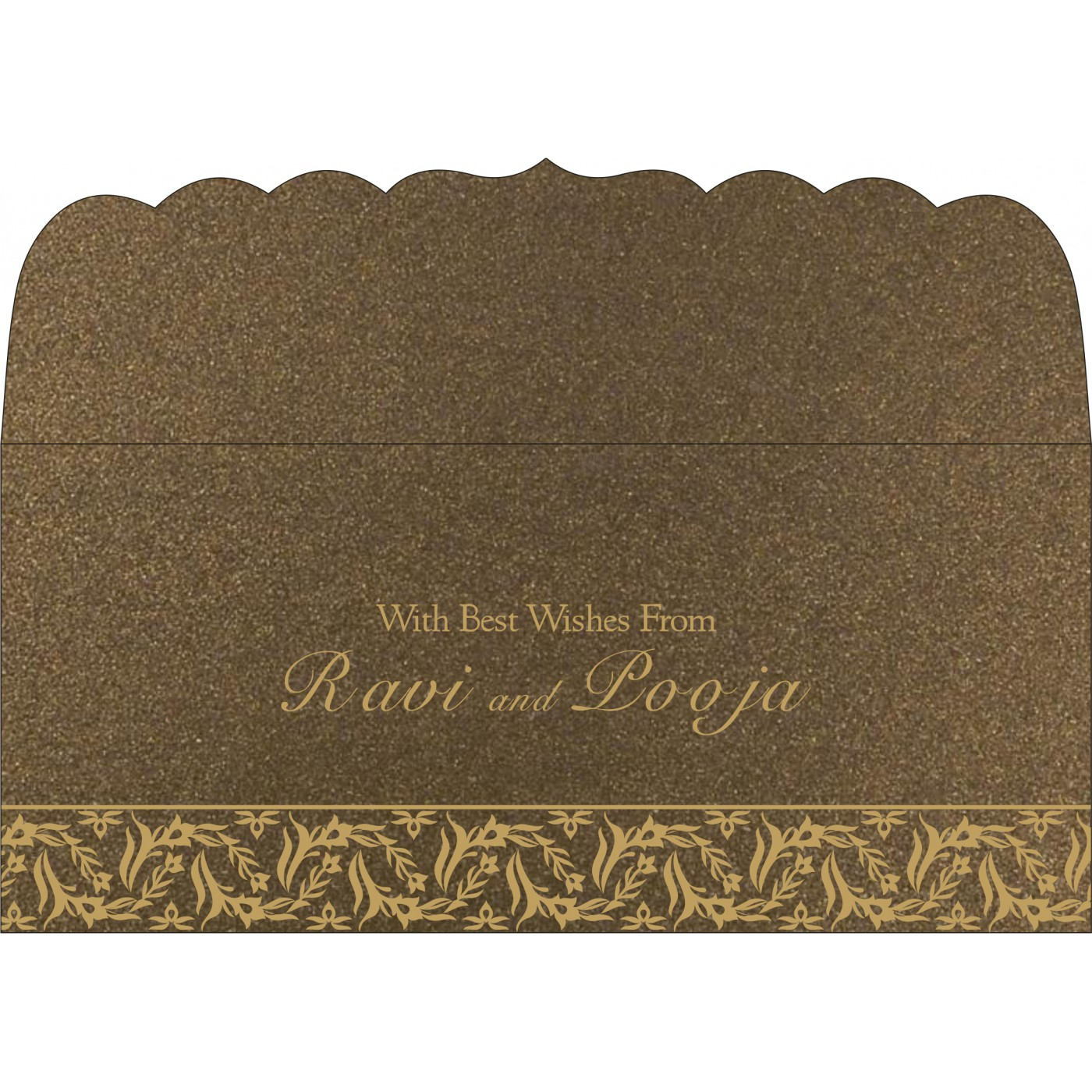 Money Envelopes : CME-8249J - IndianWeddingCards