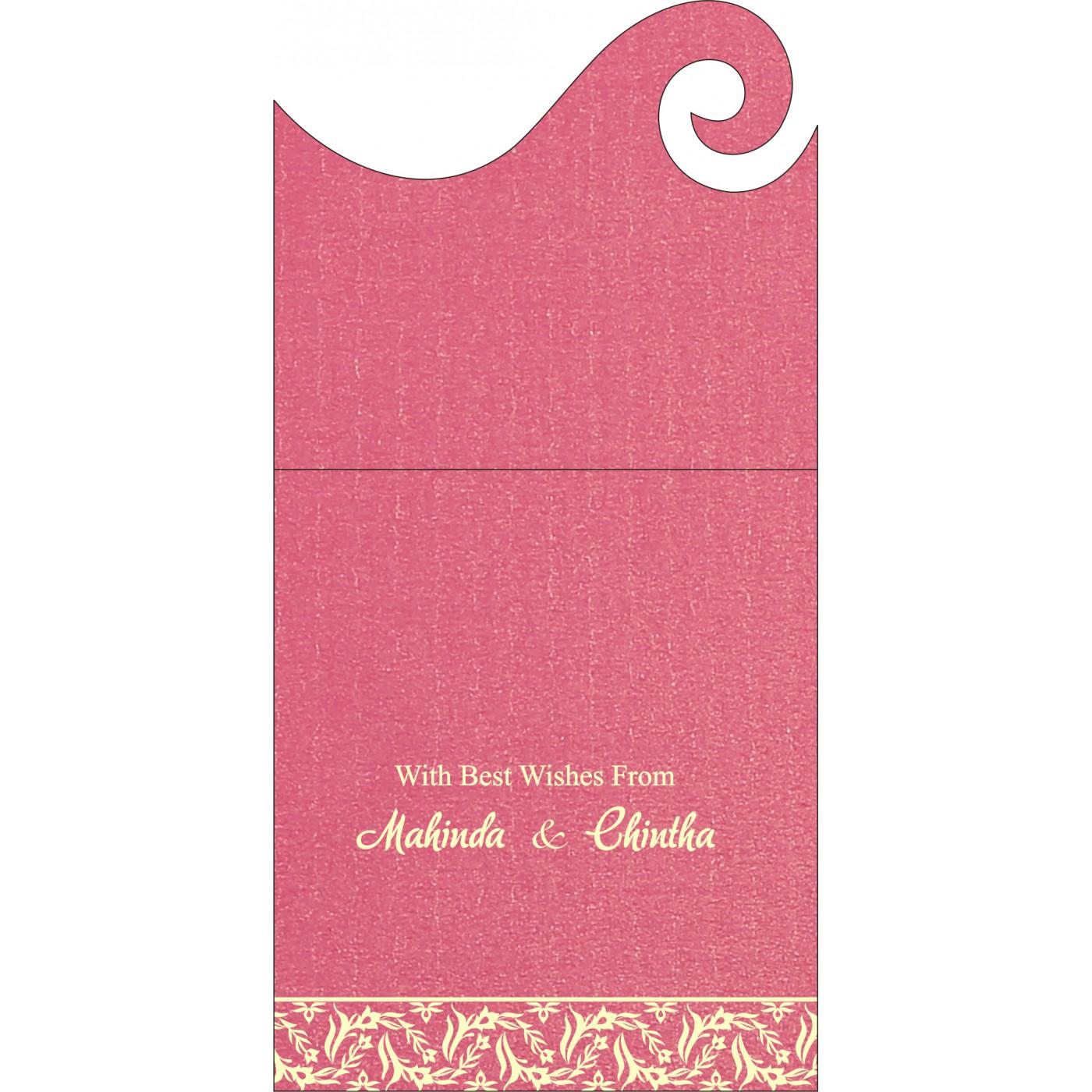 Money Envelopes : CME-8249K - IndianWeddingCards