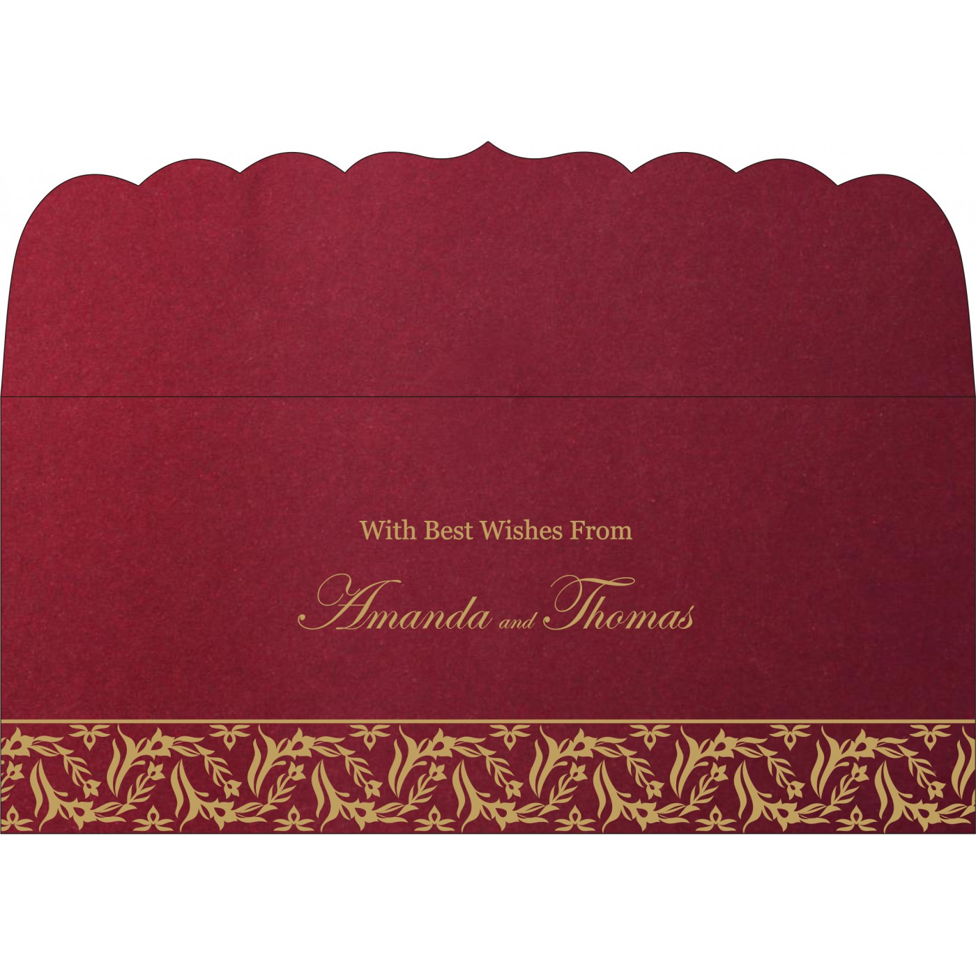Money Envelopes : CME-8249L - IndianWeddingCards