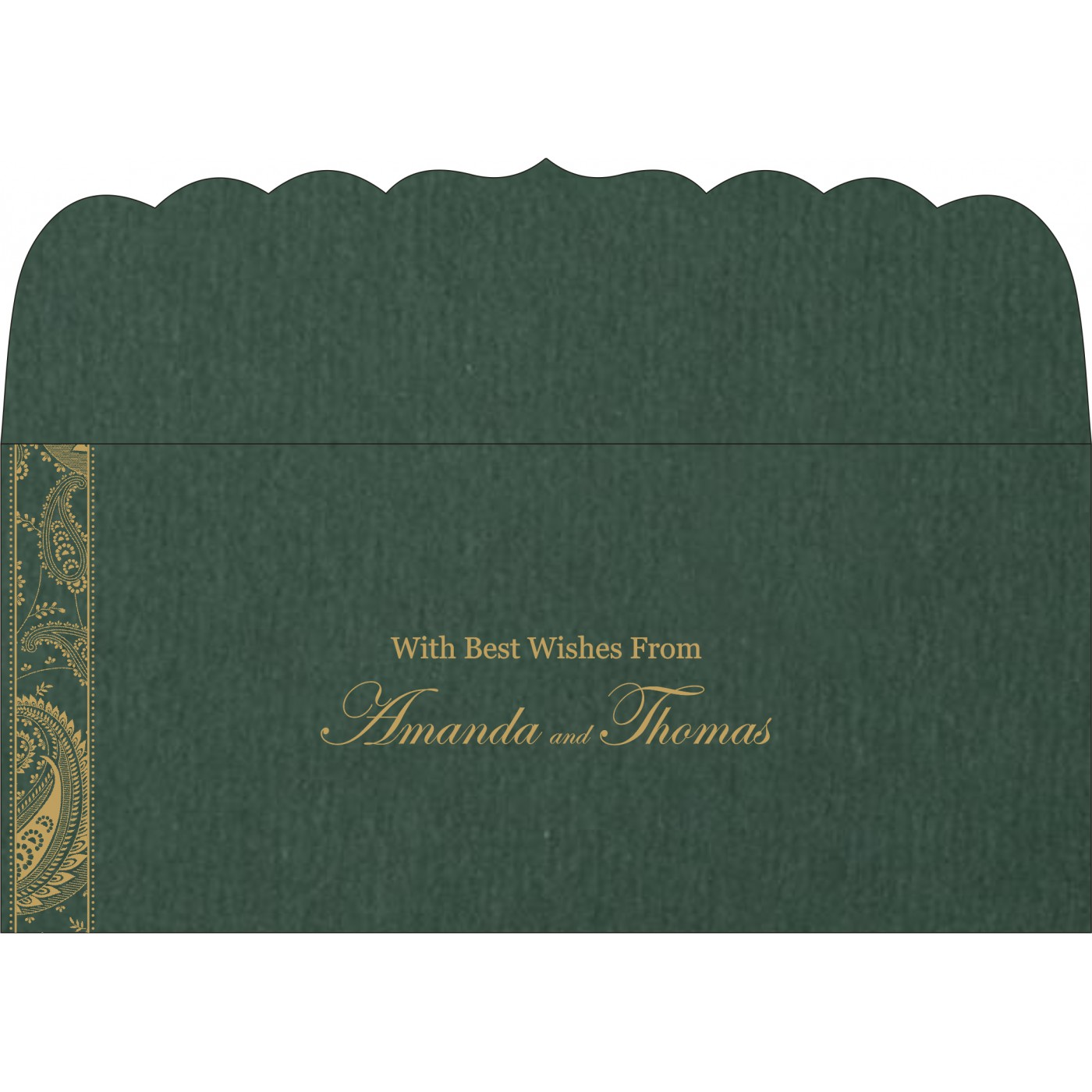 Money Envelopes : CME-8250C - IndianWeddingCards