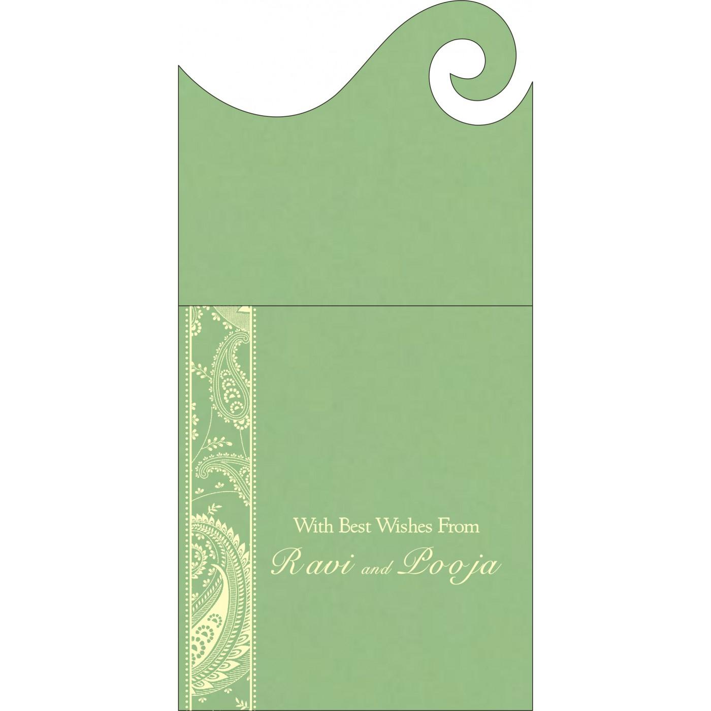 Money Envelopes : CME-8250G - IndianWeddingCards