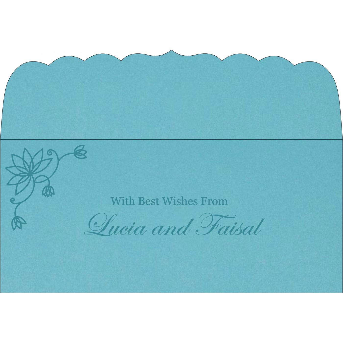 Money Envelopes : CME-8251G - IndianWeddingCards