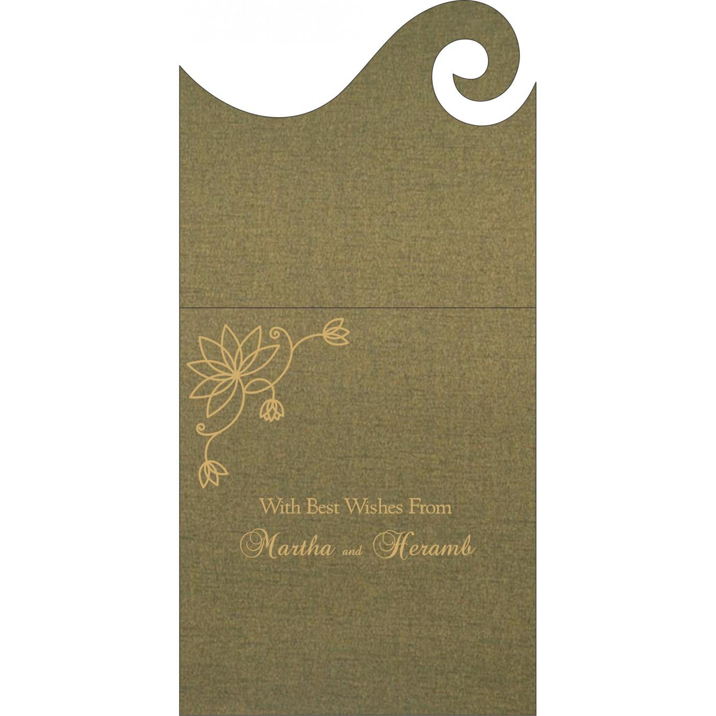 Money Envelopes : CME-8251K - IndianWeddingCards