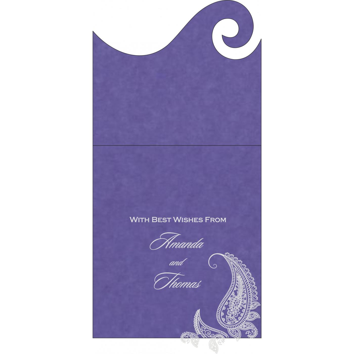 Money Envelopes : CME-8252B - IndianWeddingCards