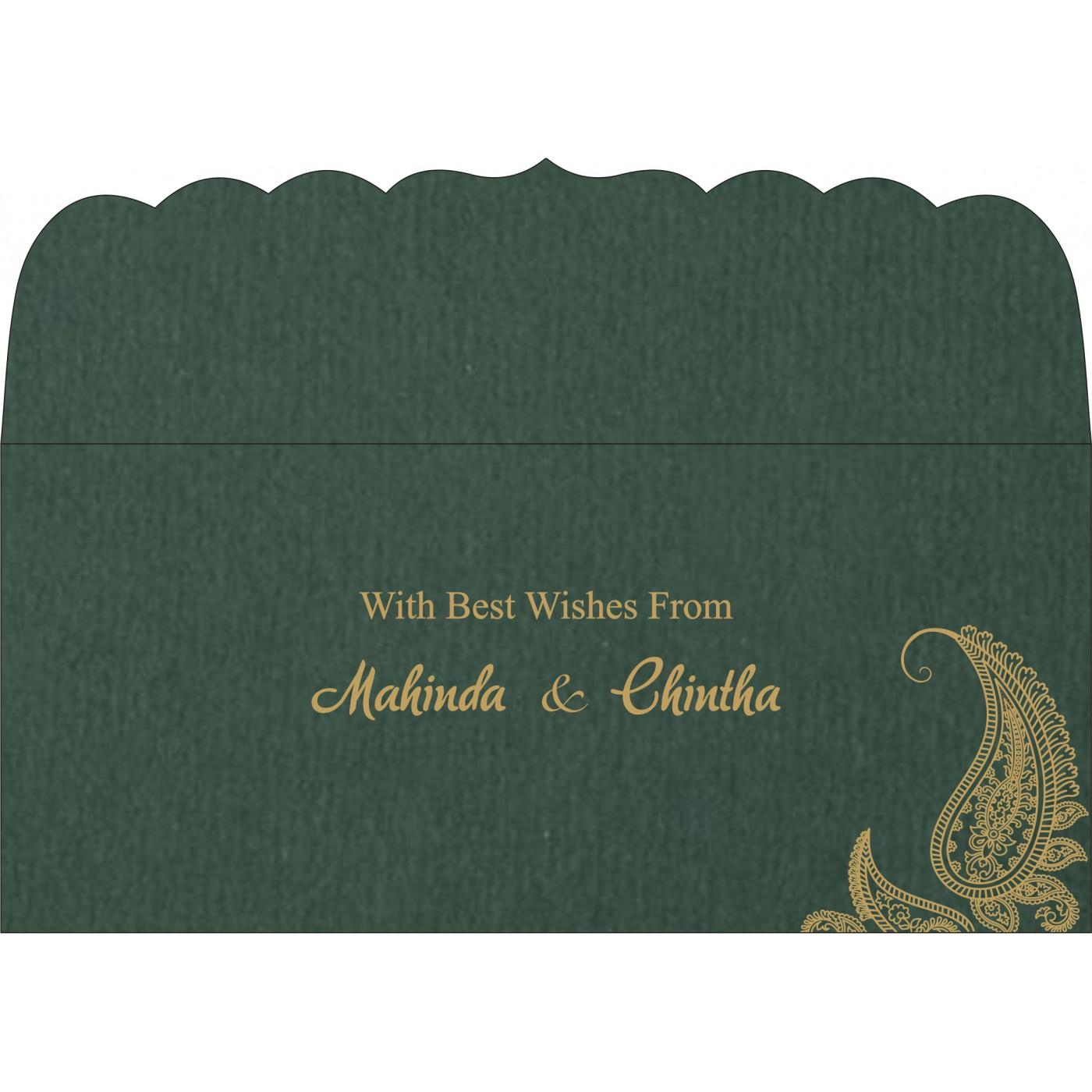 Money Envelopes : CME-8252E - IndianWeddingCards