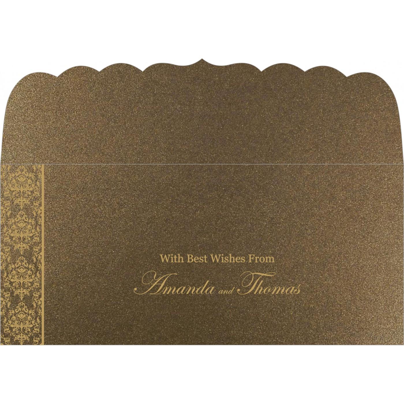 Money Envelopes : CME-8253A - IndianWeddingCards