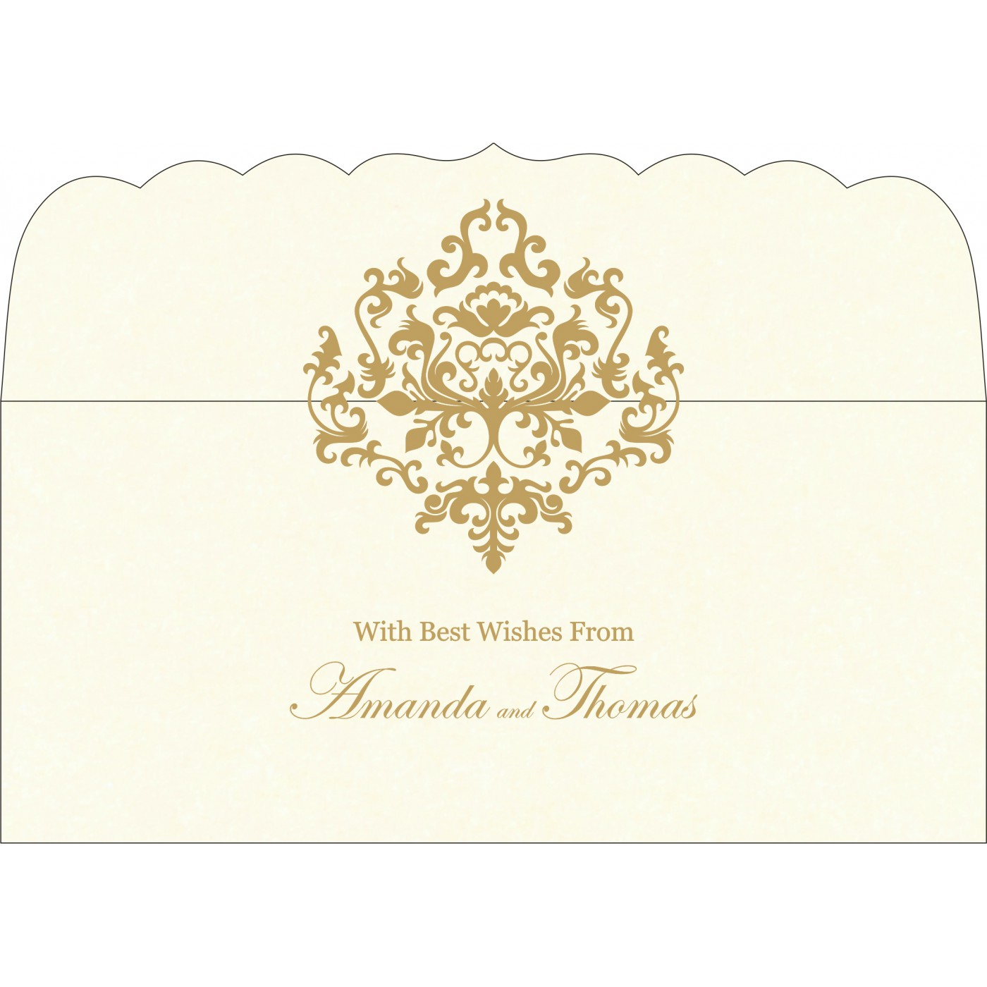 Money Envelopes : CME-8254A - IndianWeddingCards