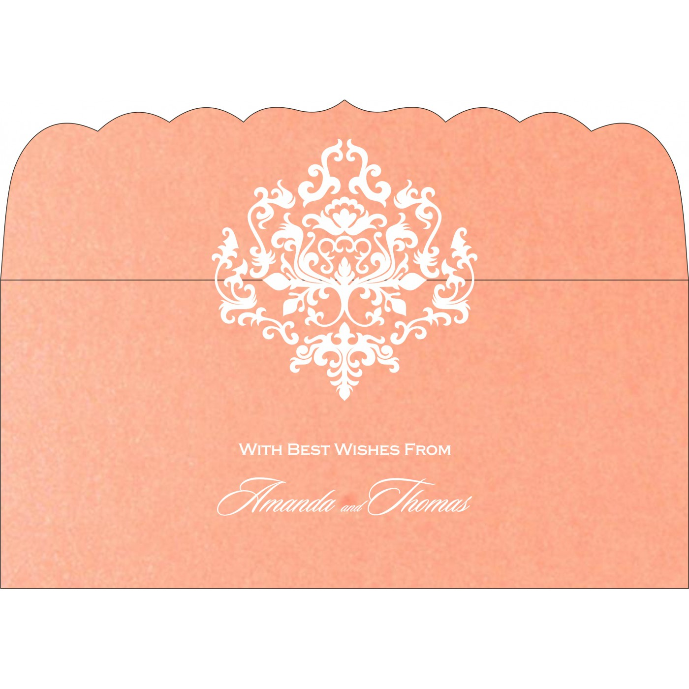 Money Envelopes : CME-8254G - IndianWeddingCards