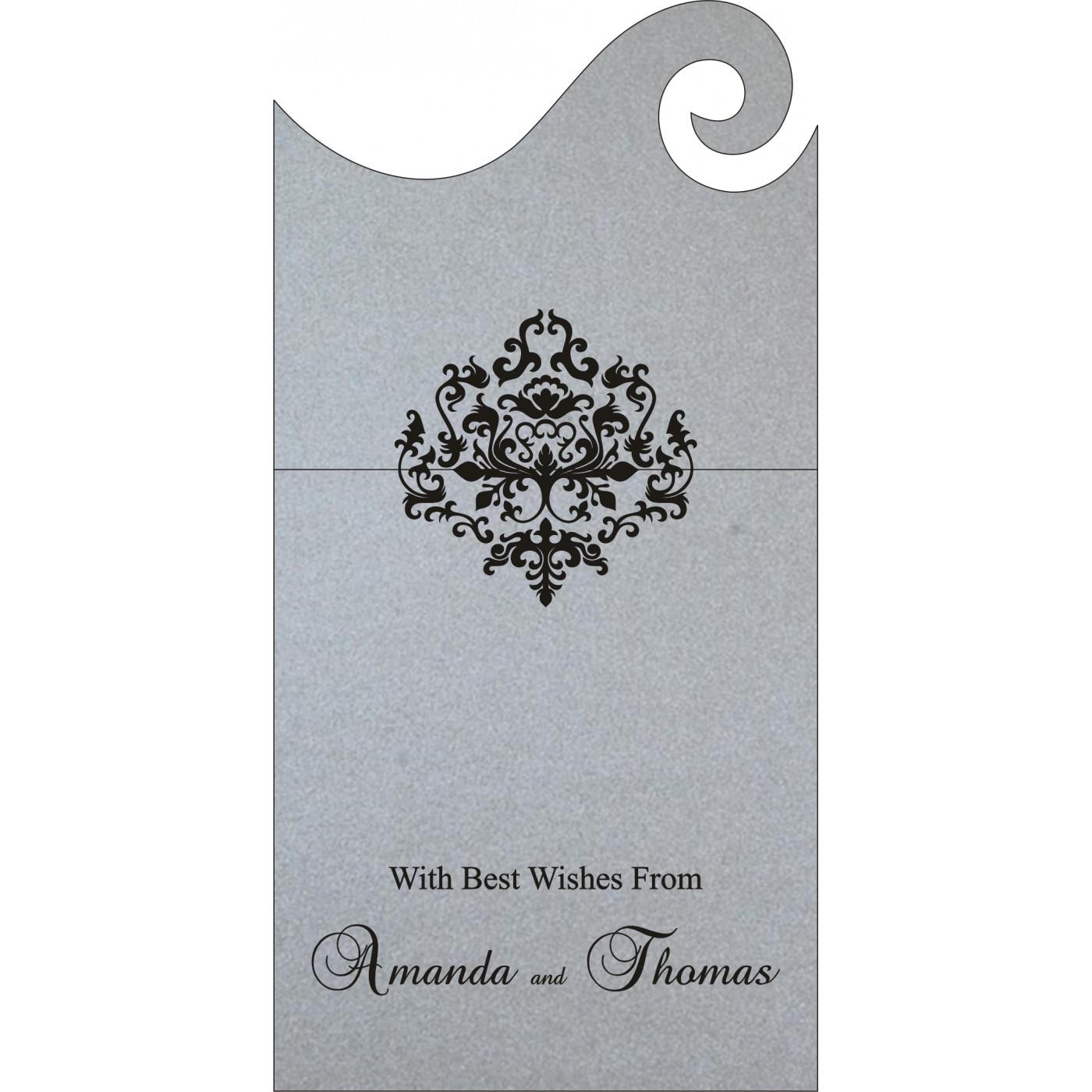 Money Envelopes : CME-8254H - IndianWeddingCards