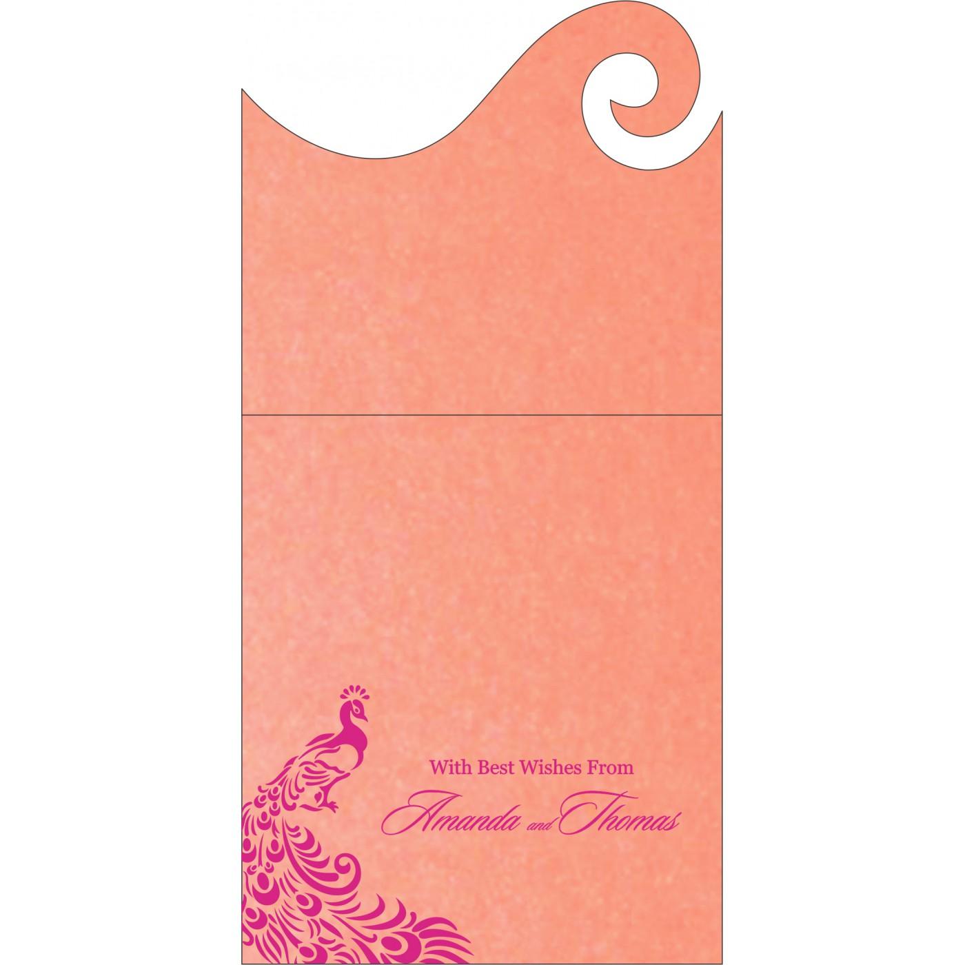 Money Envelopes : CME-8255B - IndianWeddingCards