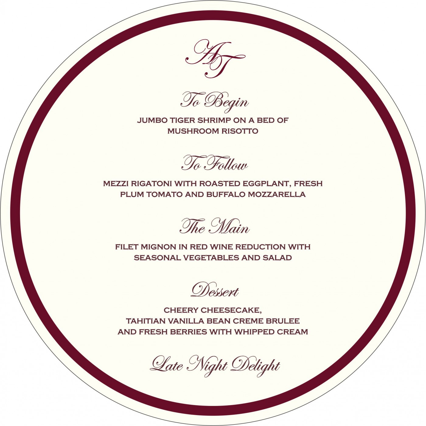 Menu Cards : CMENU-2077 - IndianWeddingCards