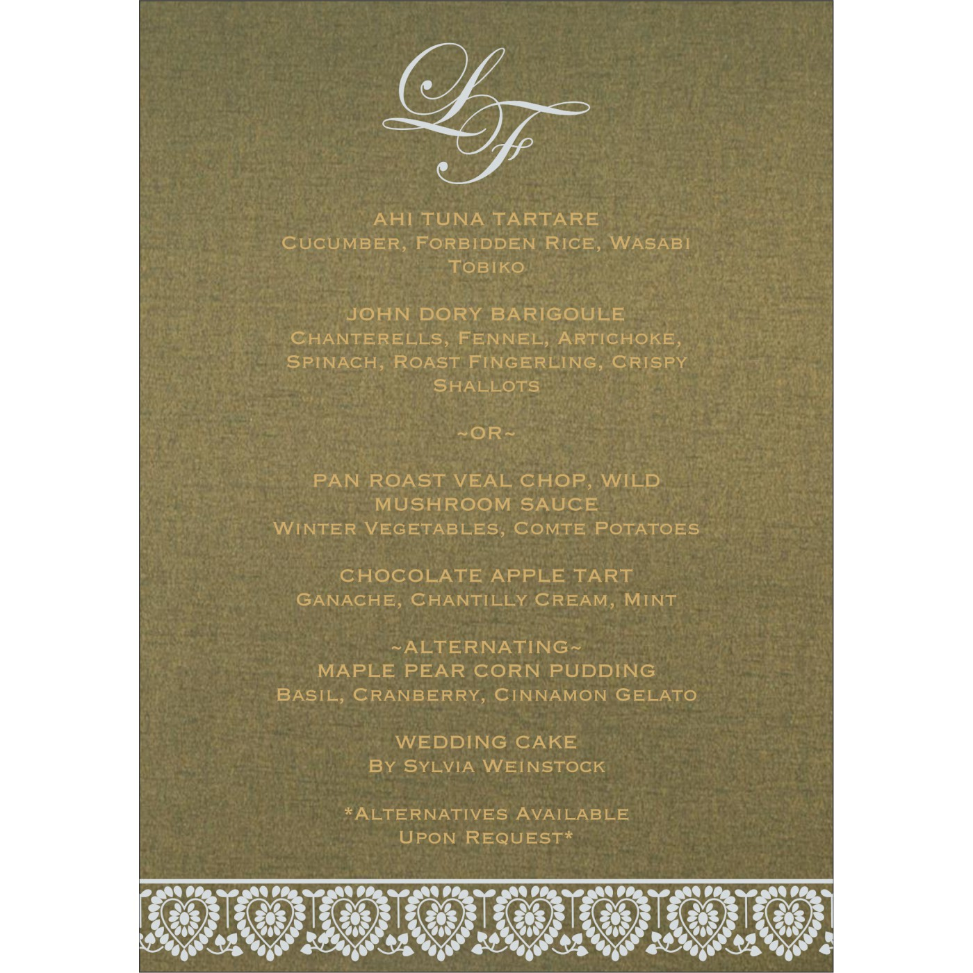 Menu Cards : CMENU-5012A - IndianWeddingCards