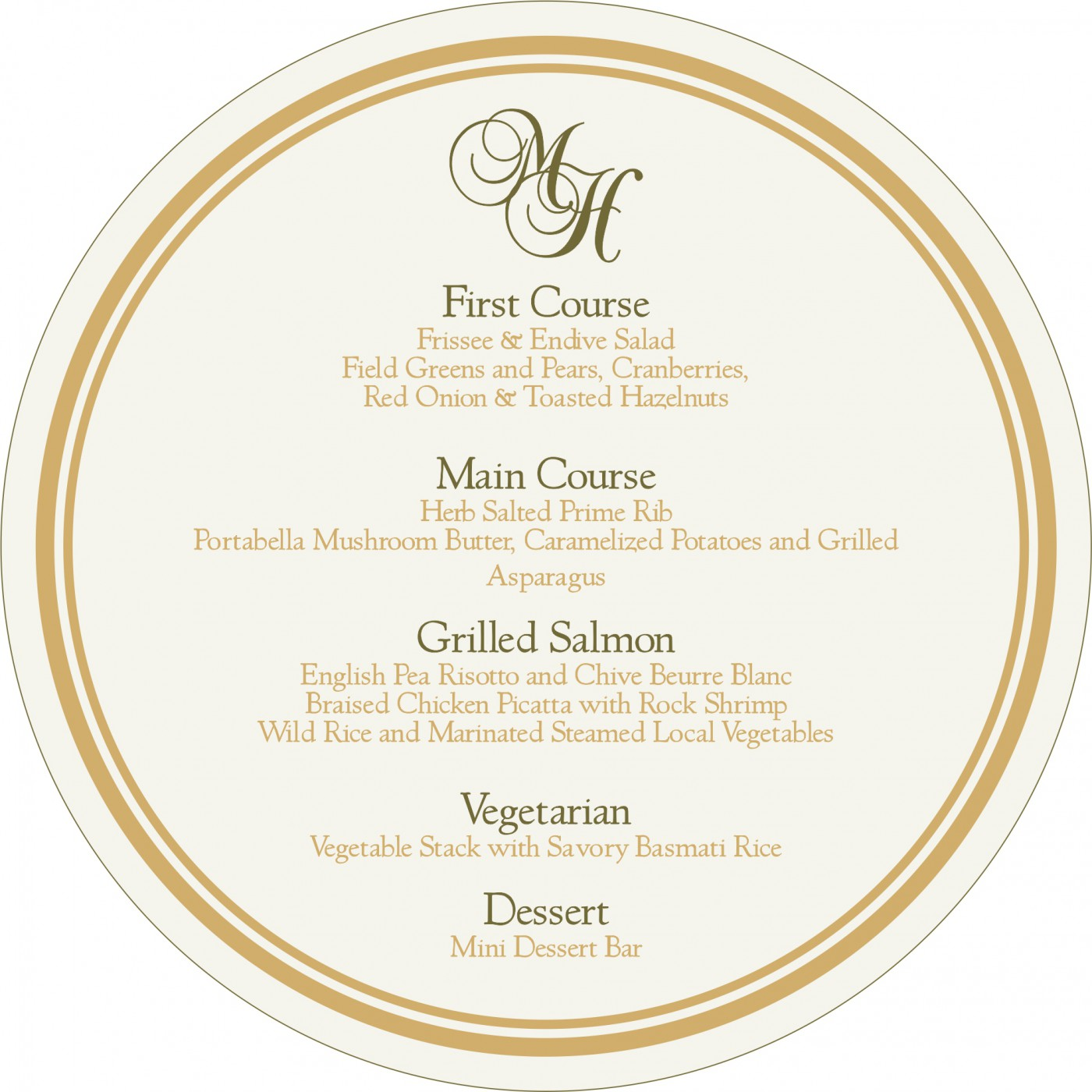 Menu Cards : CMENU-5015I - IndianWeddingCards