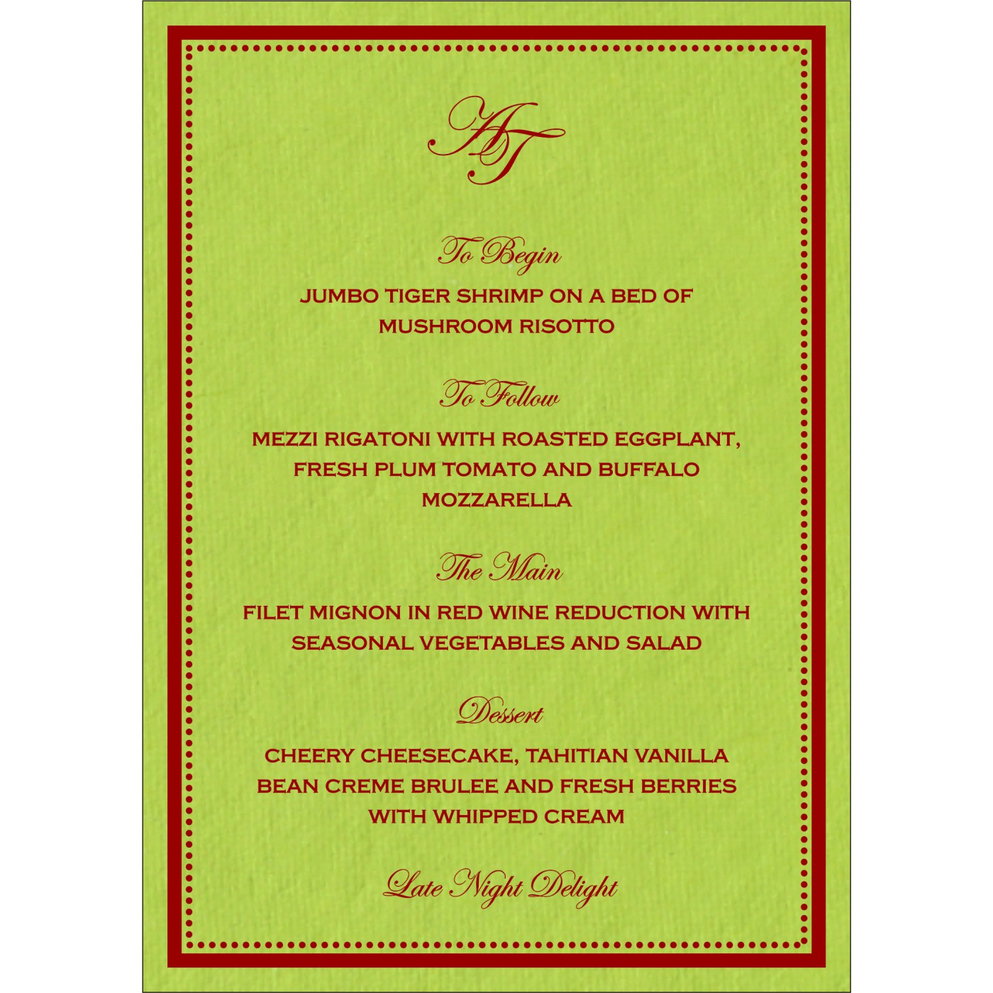 Menu Cards : CMENU-8219A - IndianWeddingCards