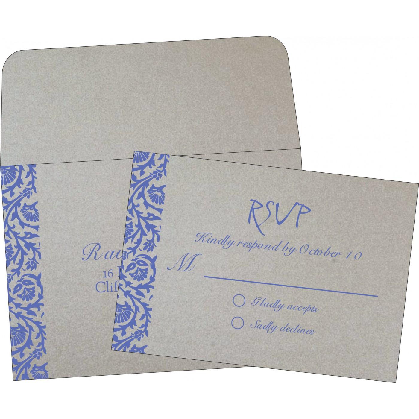 RSVP Cards : CRSVP-1371 - IndianWeddingCards