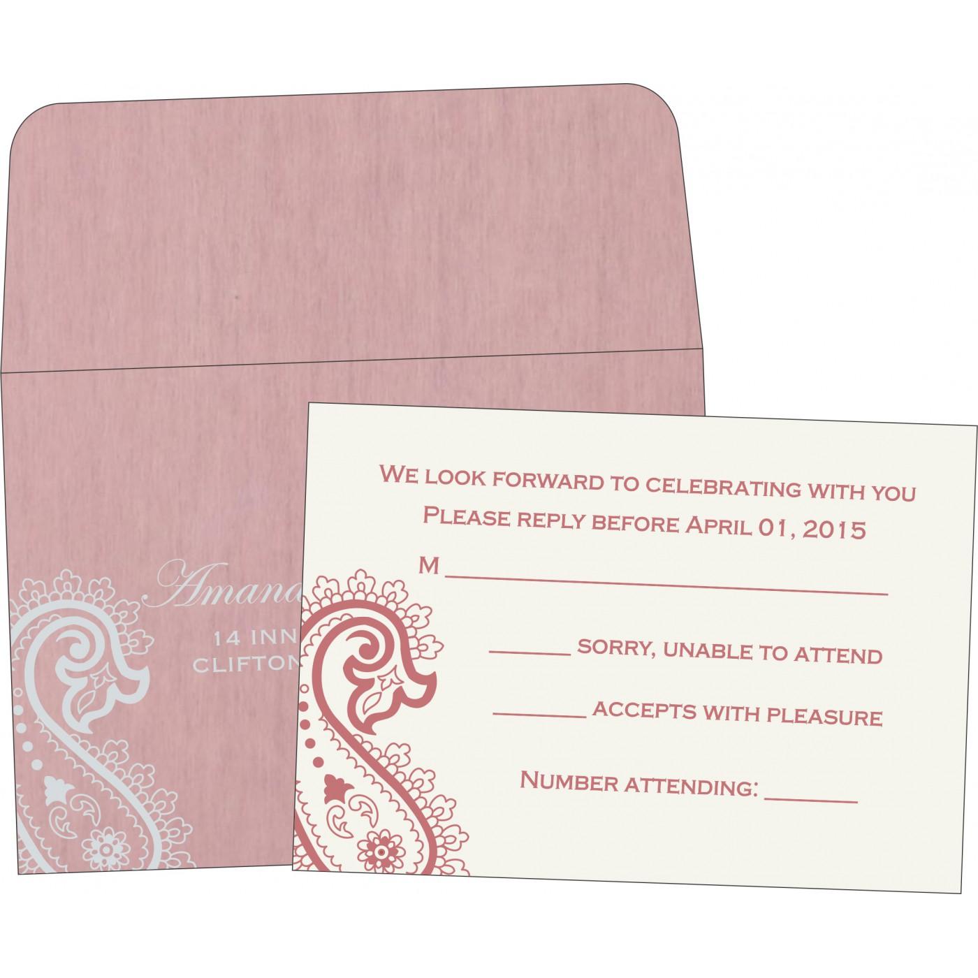 RSVP Cards : RSVP-5015D