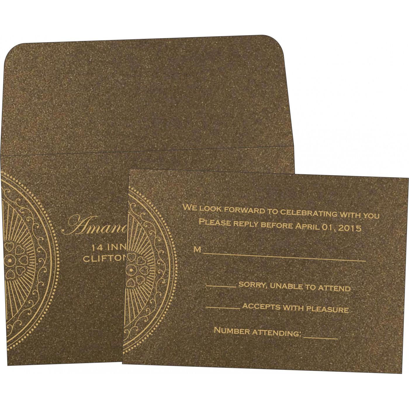 RSVP Cards : CRSVP-8230M - IndianWeddingCards