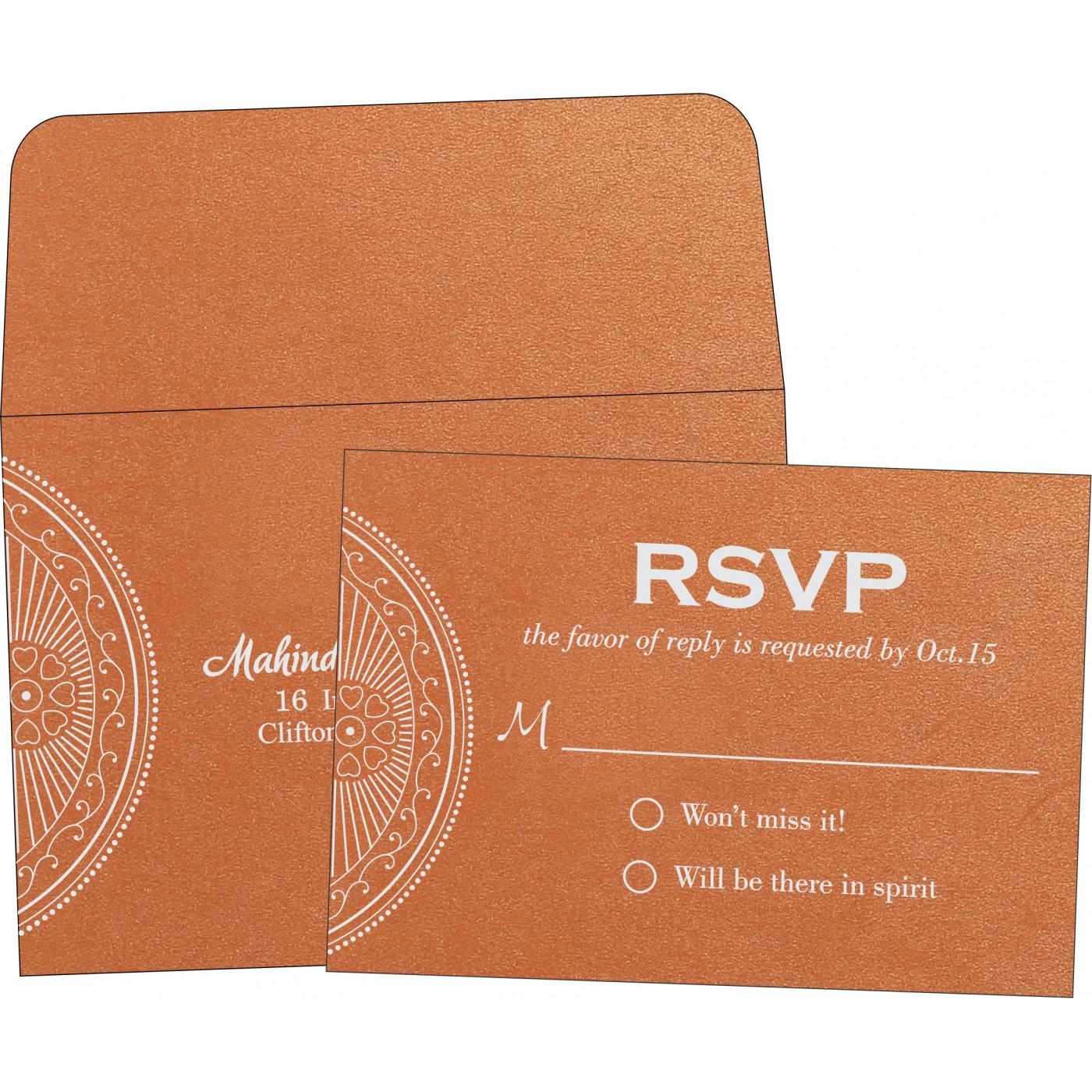 RSVP Cards : CRSVP-8230T - IndianWeddingCards