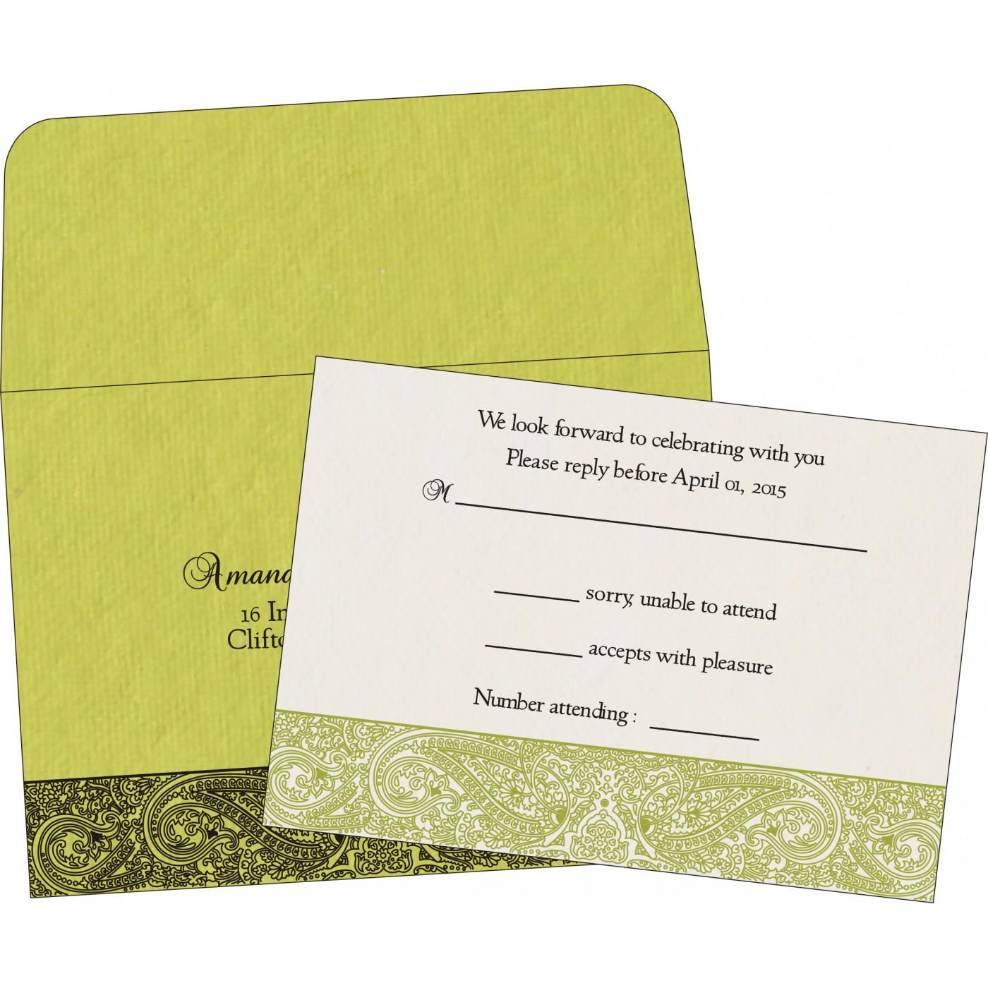 RSVP Cards : CRSVP 8234H