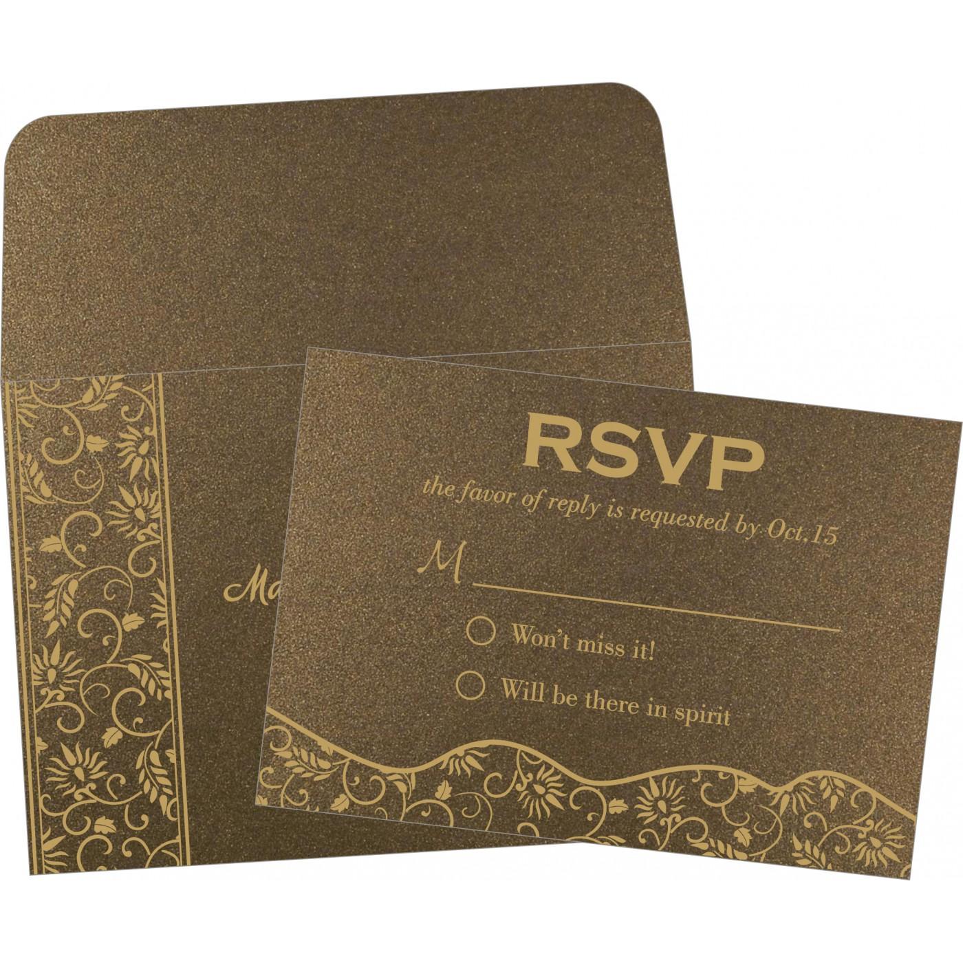 RSVP Cards : CRSVP-8236I - IndianWeddingCards
