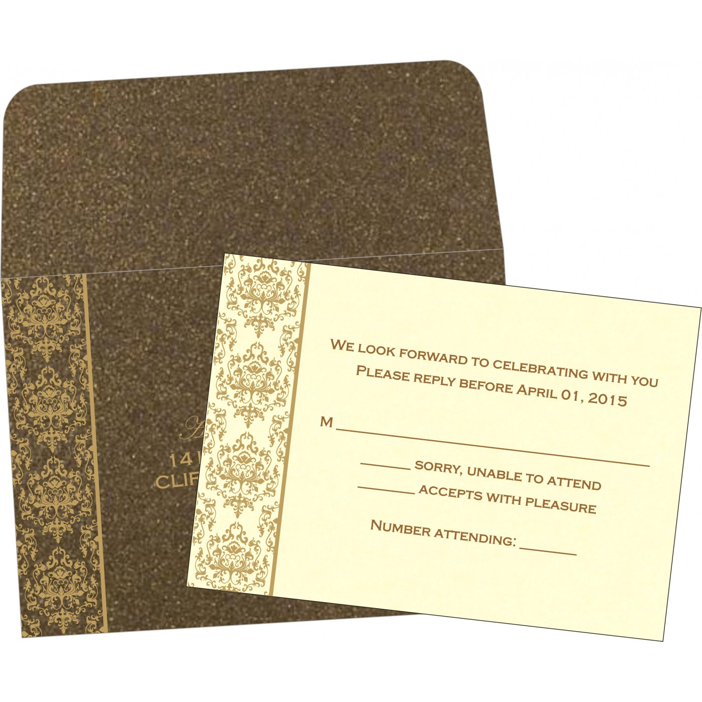 RSVP Cards : CRSVP 8253A