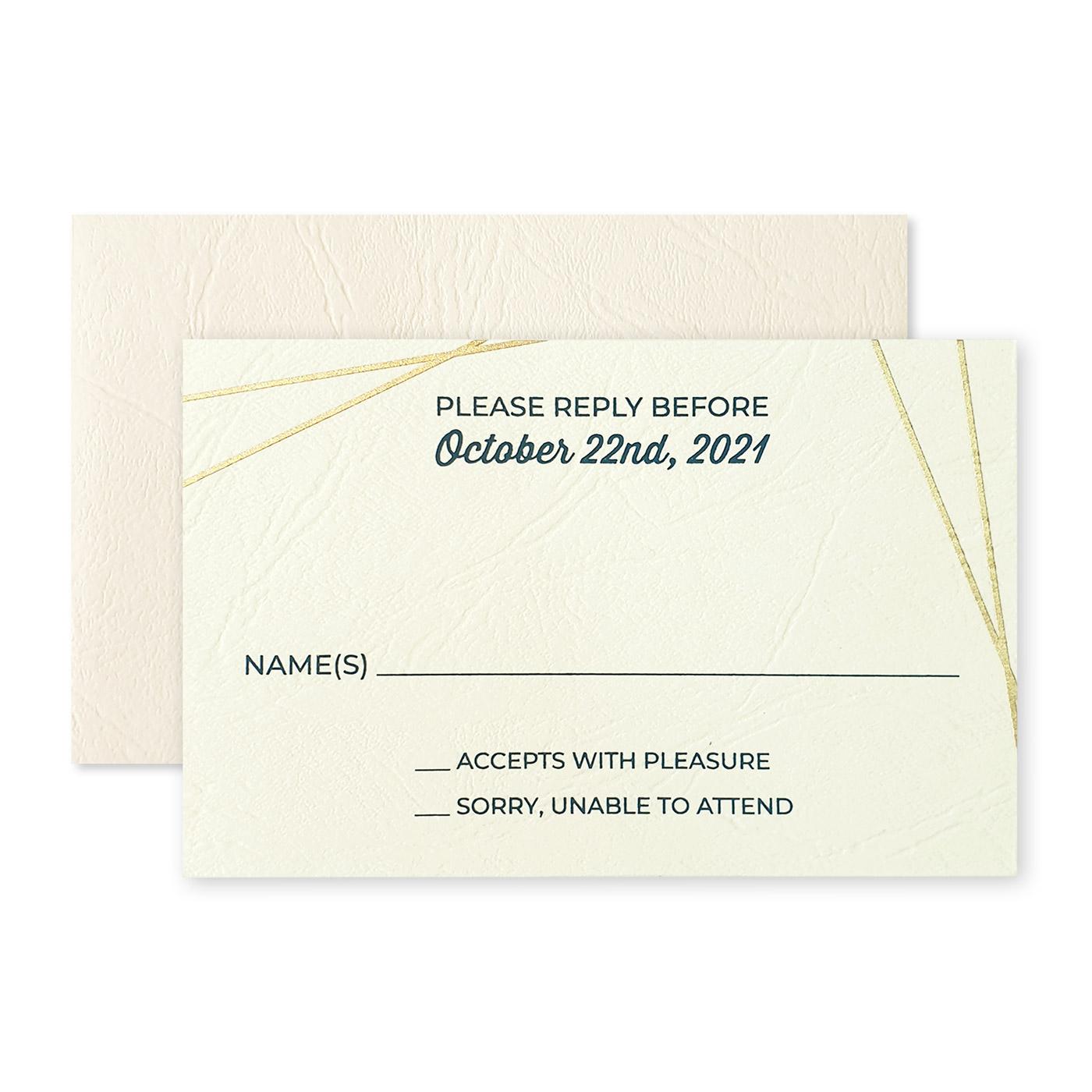 RSVP Cards : CRSVP-SPARKLING_GALAXY - IndianWeddingCards