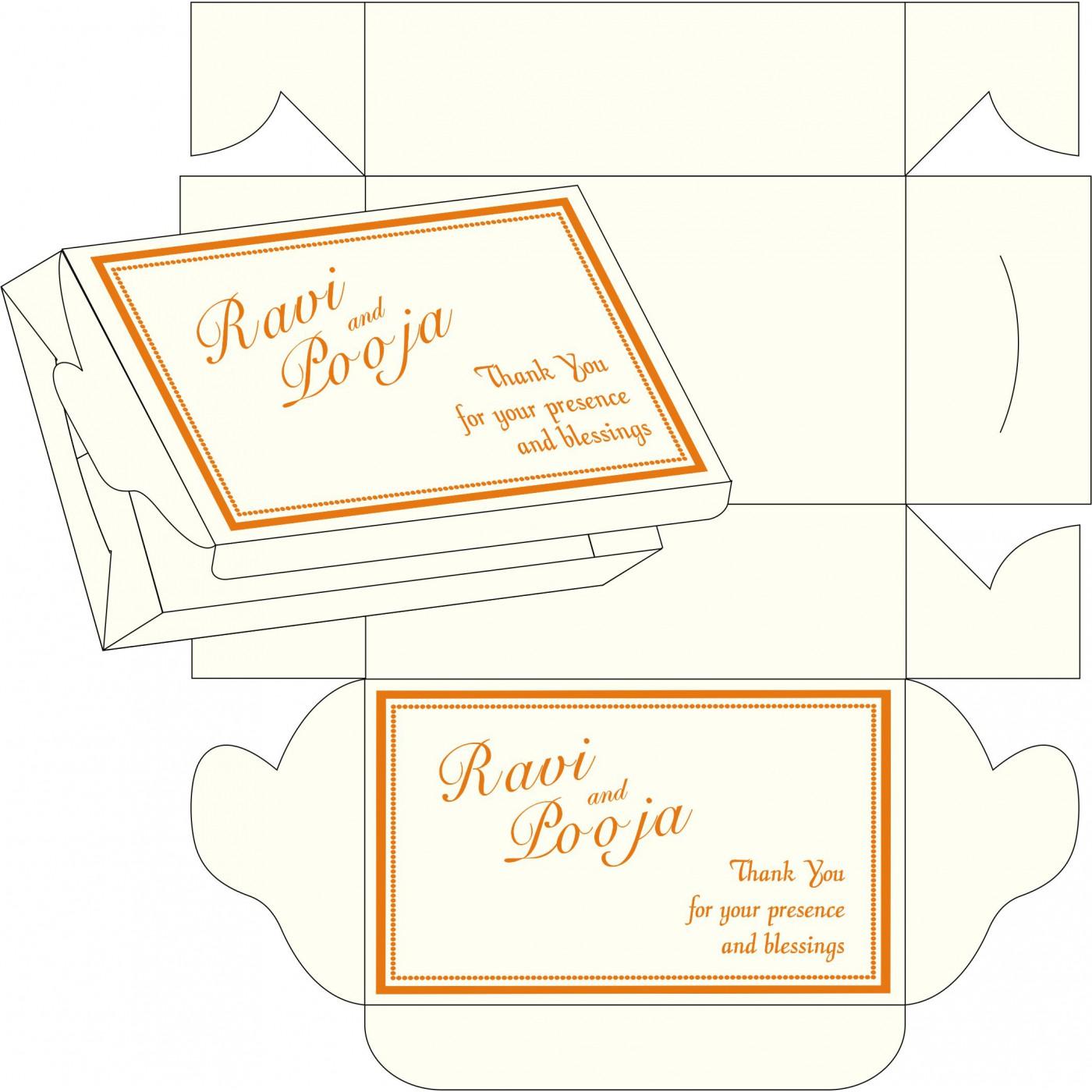 Sweet Boxes : CSB-1183 - IndianWeddingCards