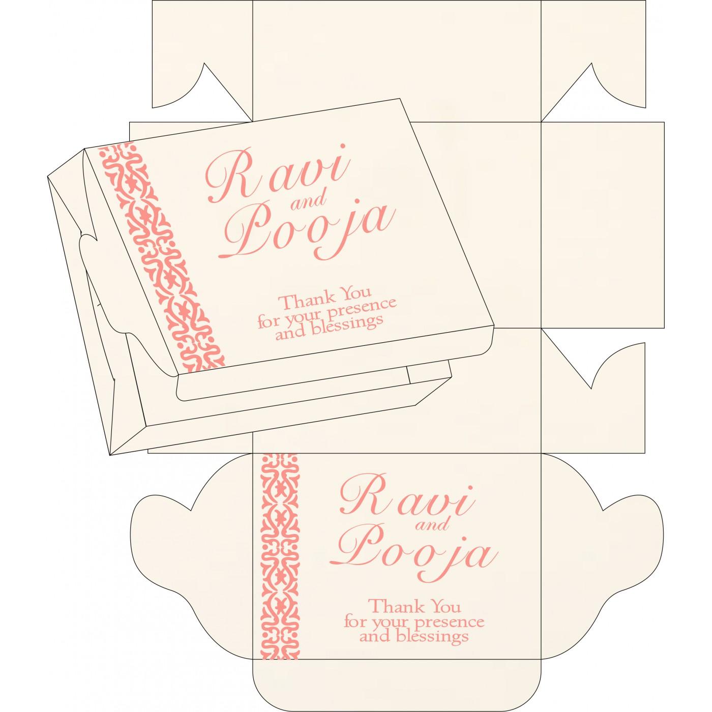 Sweet Boxes : CSB-1221 - IndianWeddingCards