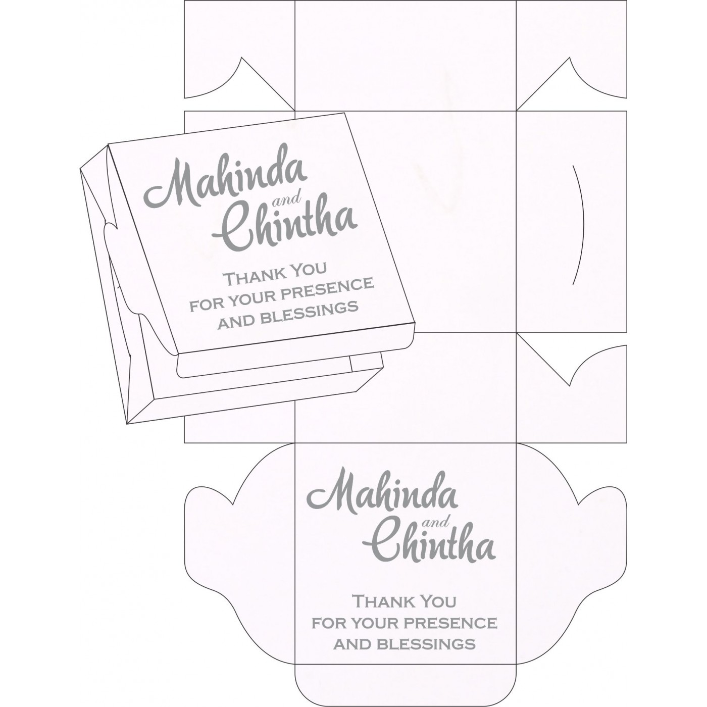 Sweet Boxes : CSB-1291 - IndianWeddingCards