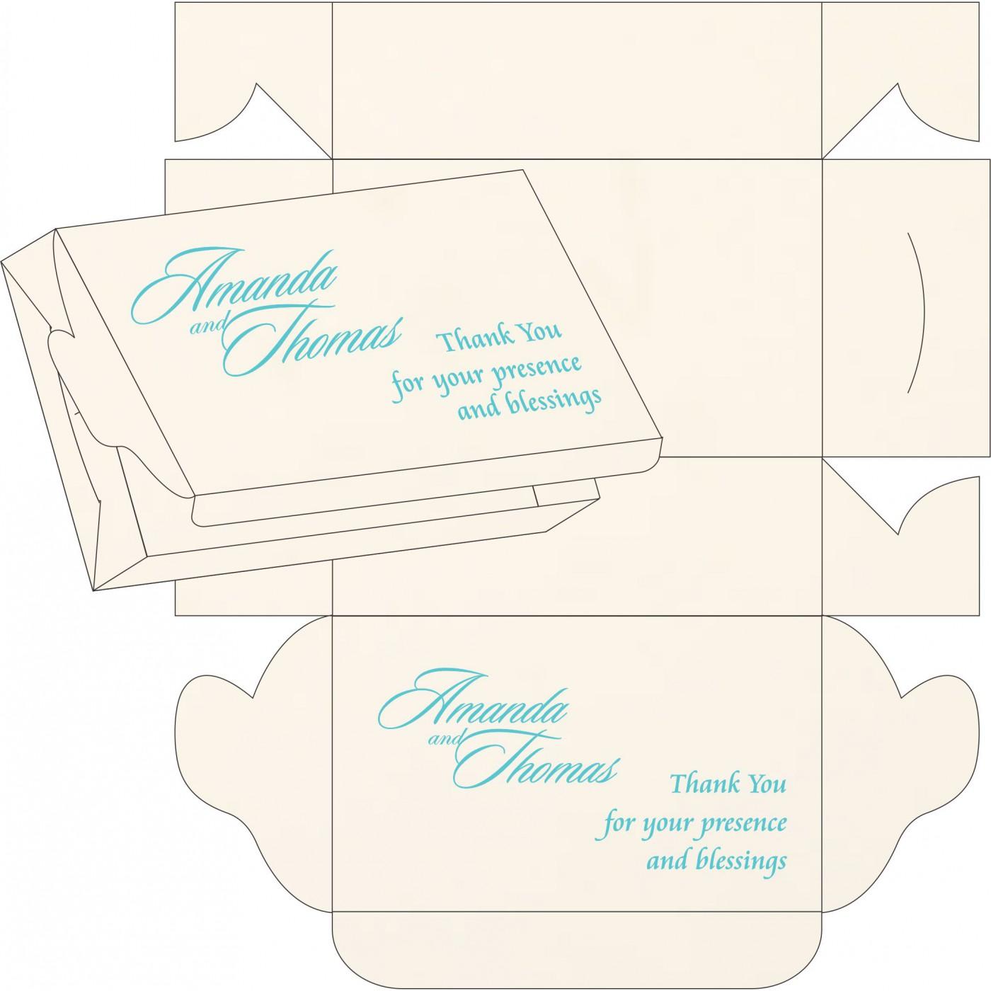Sweet Boxes : CSB-1338 - IndianWeddingCards