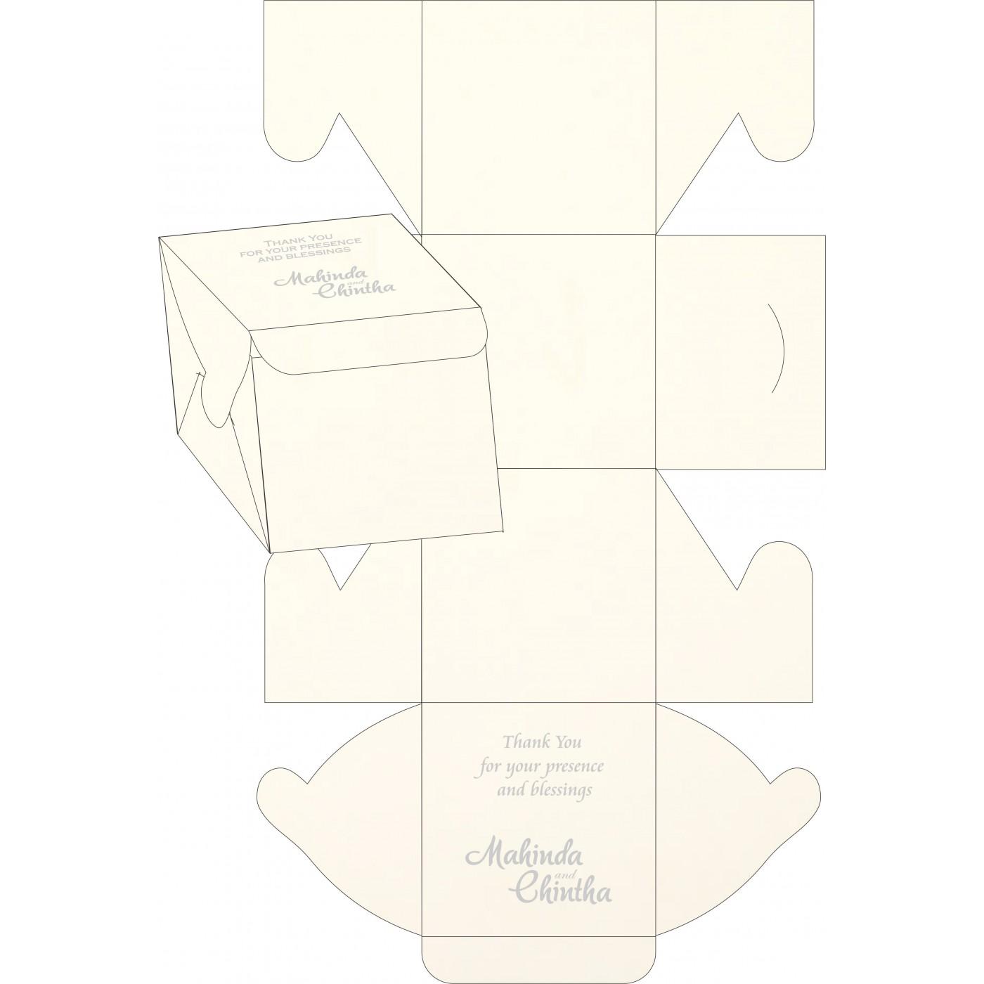 Sweet Boxes : CSB-1380 - IndianWeddingCards