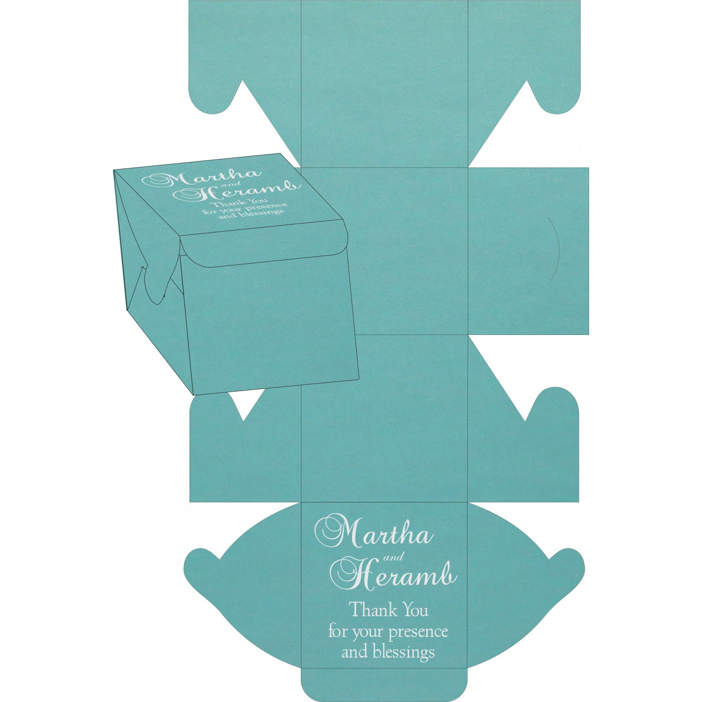 Sweet Boxes : CSB-1382 - IndianWeddingCards