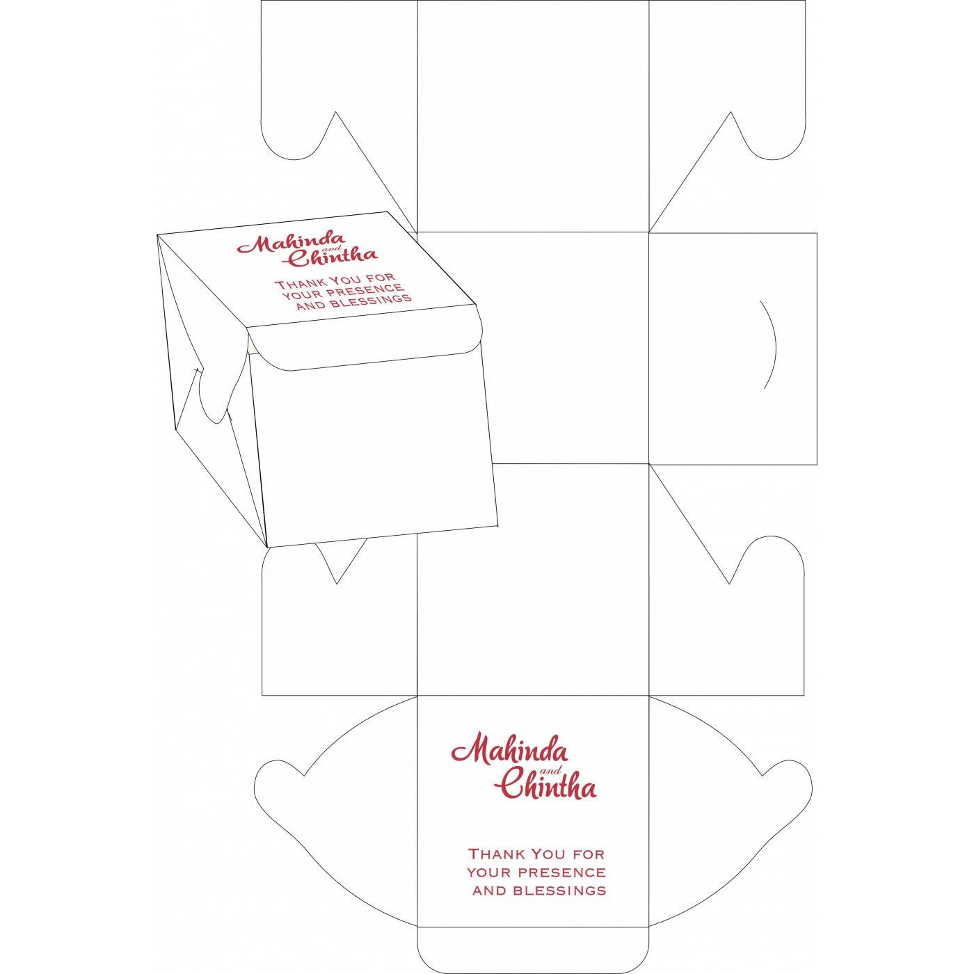 Sweet Boxes : CSB-1396 - IndianWeddingCards