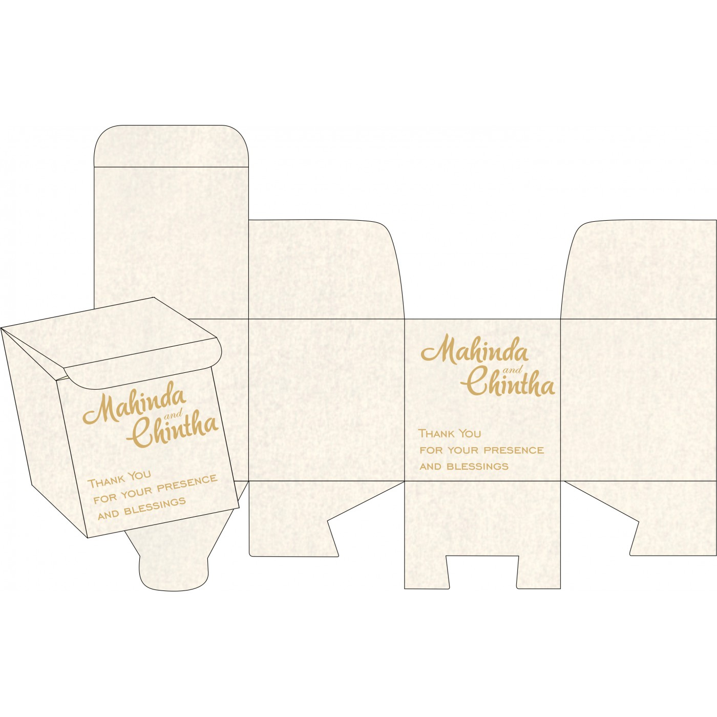 Sweet Boxes : CSB-1434 - IndianWeddingCards