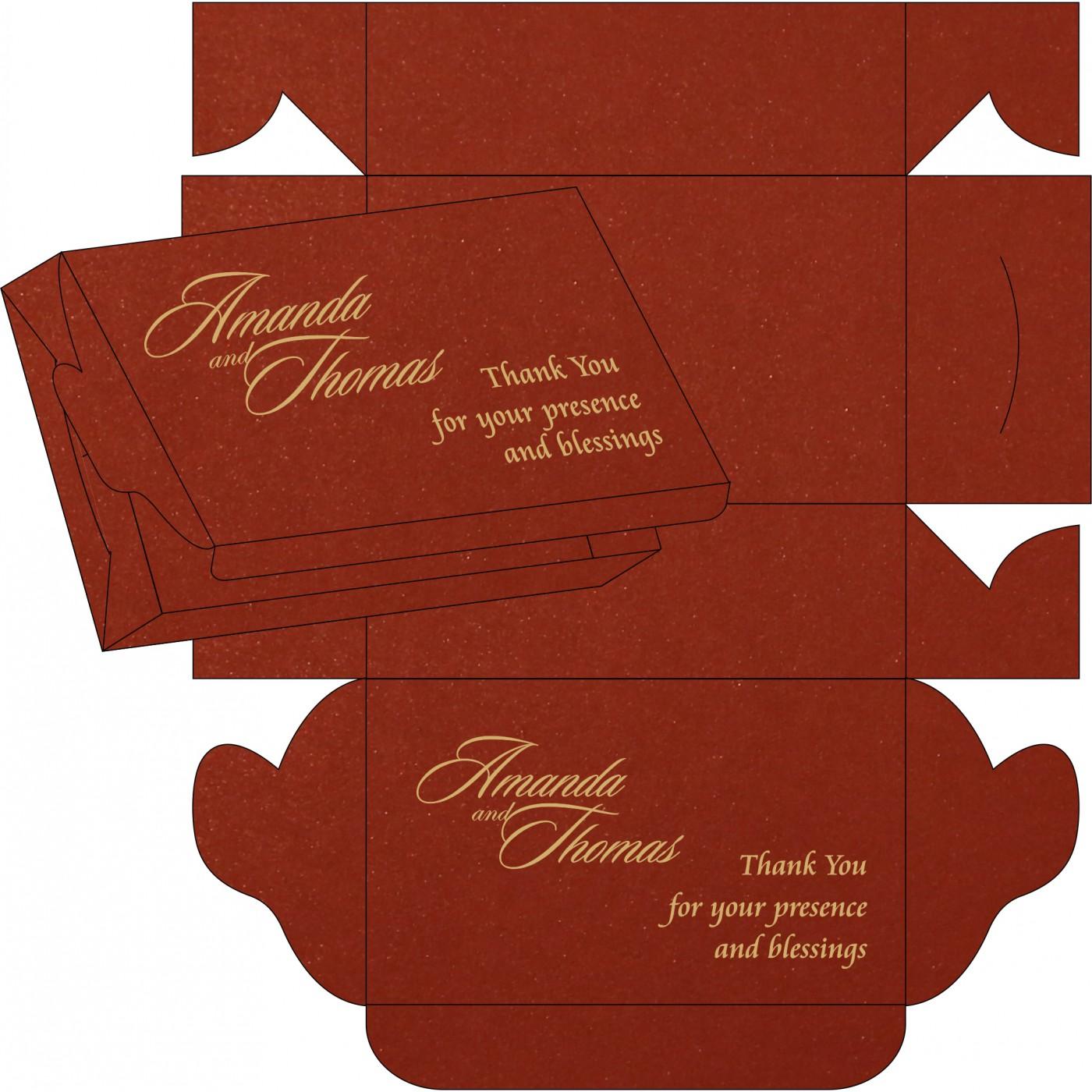 Sweet Boxes : CSB-1465 - IndianWeddingCards