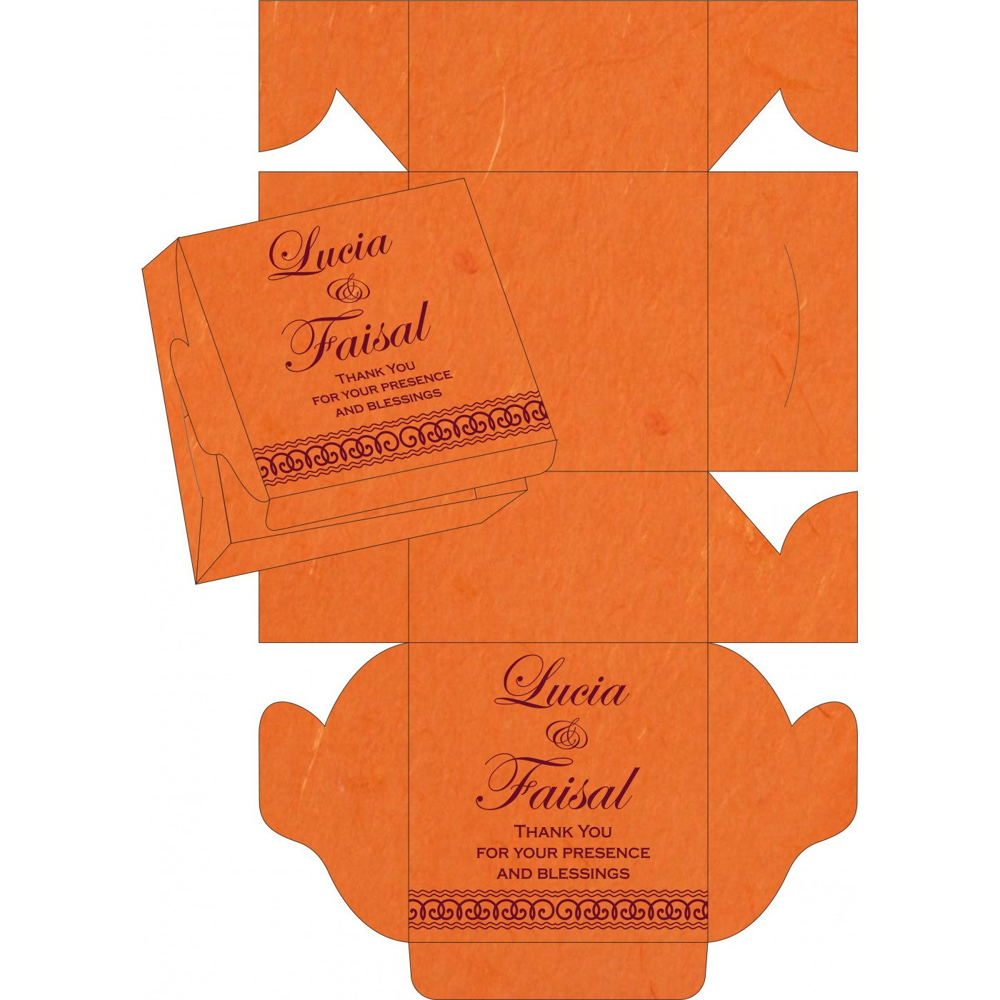 Sweet Boxes : CSB-5002A - IndianWeddingCards