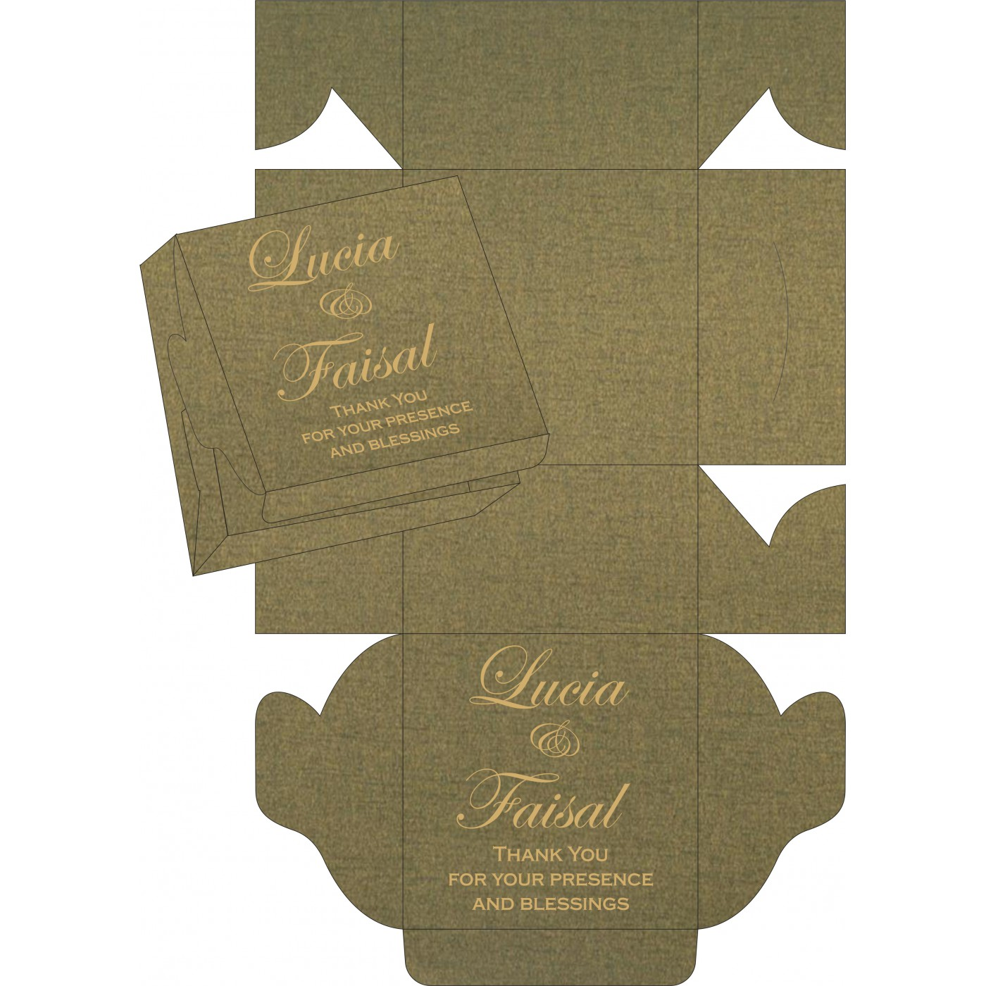 Sweet Boxes : CSB-5012A - IndianWeddingCards